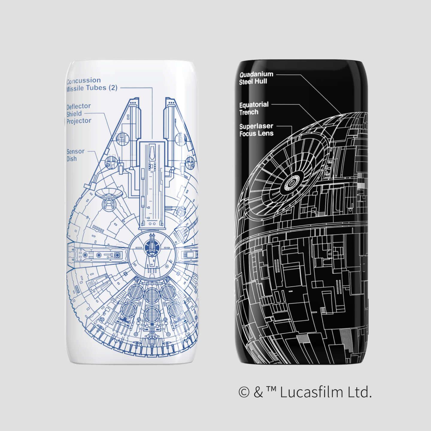 R2-D2にミレニアム・ファルコンも!『スター・ウォーズ』の世界観を楽しめるモバイルバッテリー2種類とプロジェクターがAnkerから登場 tech191120_starwars_mobile_01-1440x1441
