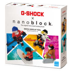 G-SHOCK×nanoblock(R)