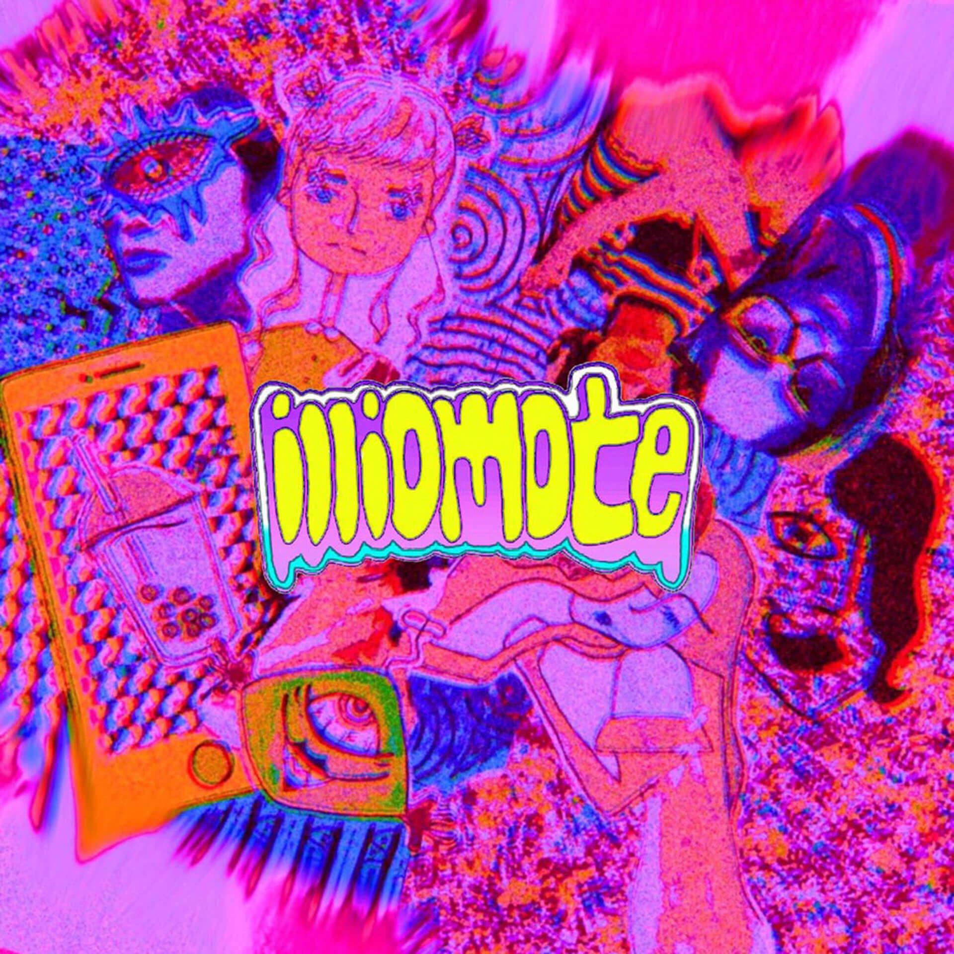 NEOなセンスで話題の幼馴染ユニットilliomoteが自身初となる楽曲「Sundayyyy/BLUE DIE YOUNG」をリリース ILLI-001_jkt