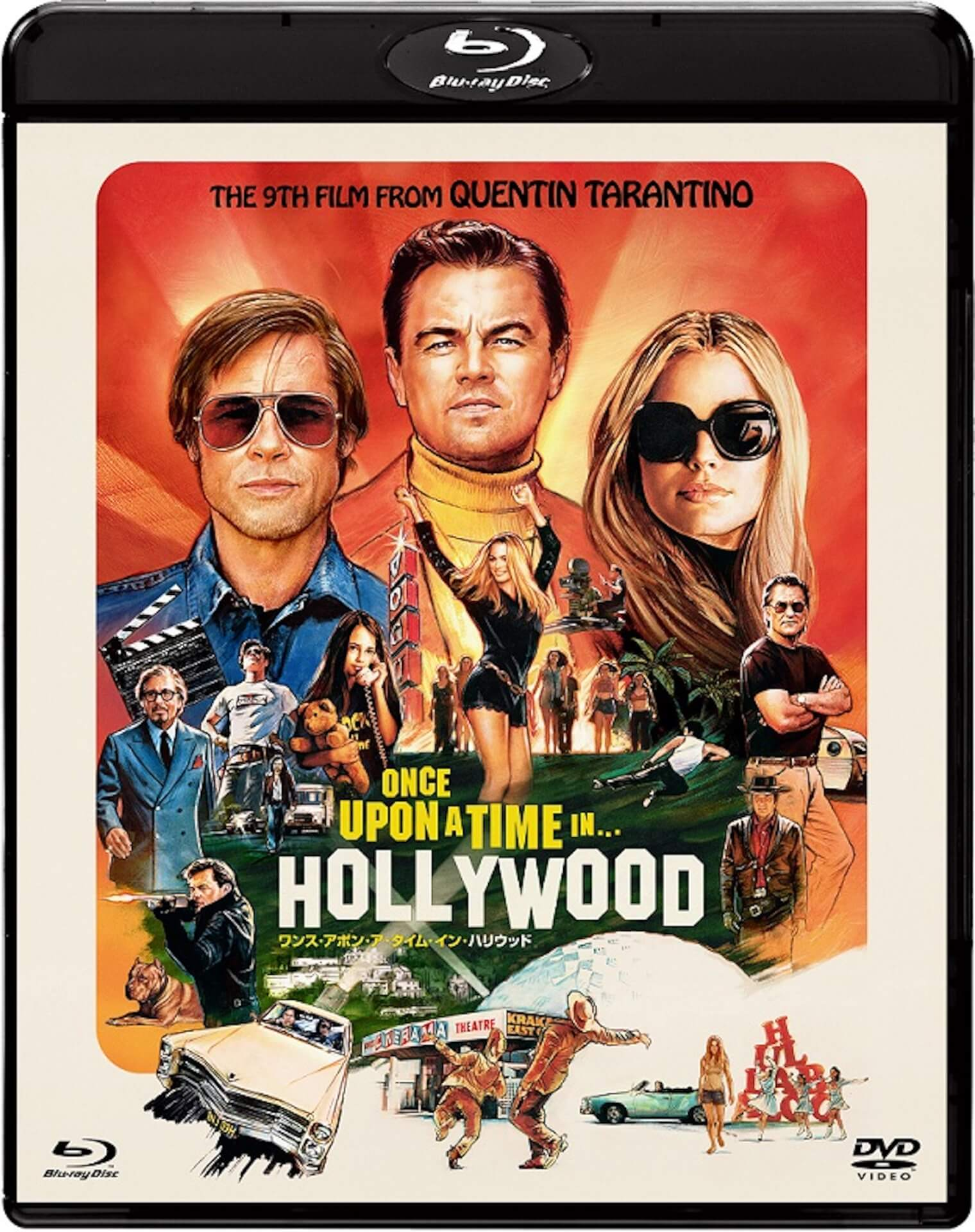 """世界中で大ヒット""""ワンハリ""""がついにブルーレイ&DVDに!『ワンス・イン・ア・タイム・イン・ハリウッド』タランティーノ監督のインタビューも公開 film_191129_onceuponatime_1"""