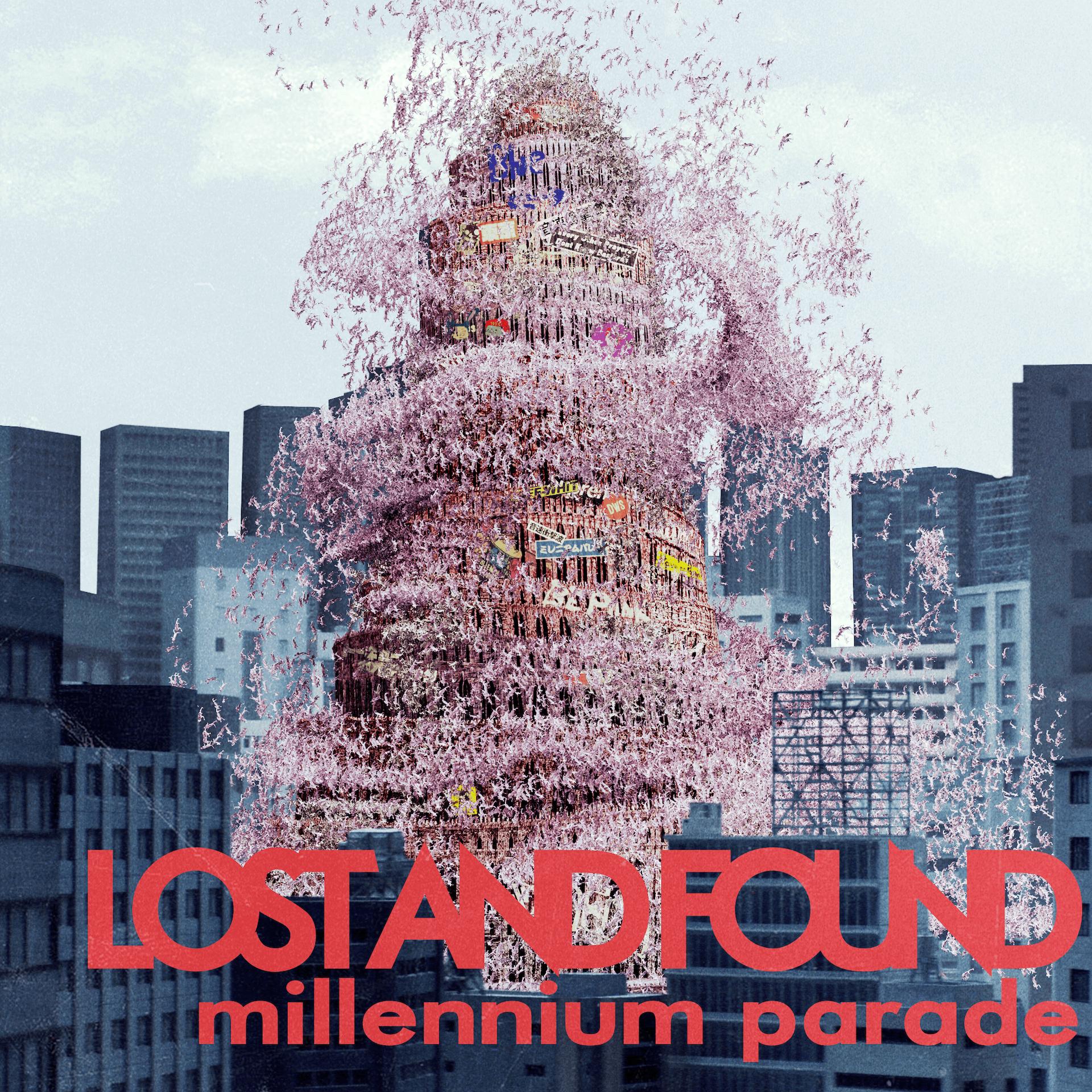 King Gnu常田大希率いるmillennium parade、Diorとのコラボで話題の新曲「lost and found」を配信スタート!MVも解禁 music191207_millennium-parade_10-1920x1920