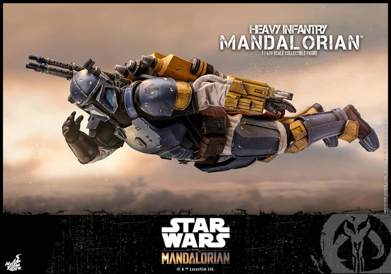 ディズニーデラックスで配信決定の「スター・ウォーズ」シリーズ『マンダロリアン』からブルーアーマーの重歩兵マンダロリアンがフィギュアになって登場! ac191209_mandalorian_05-1440x1008