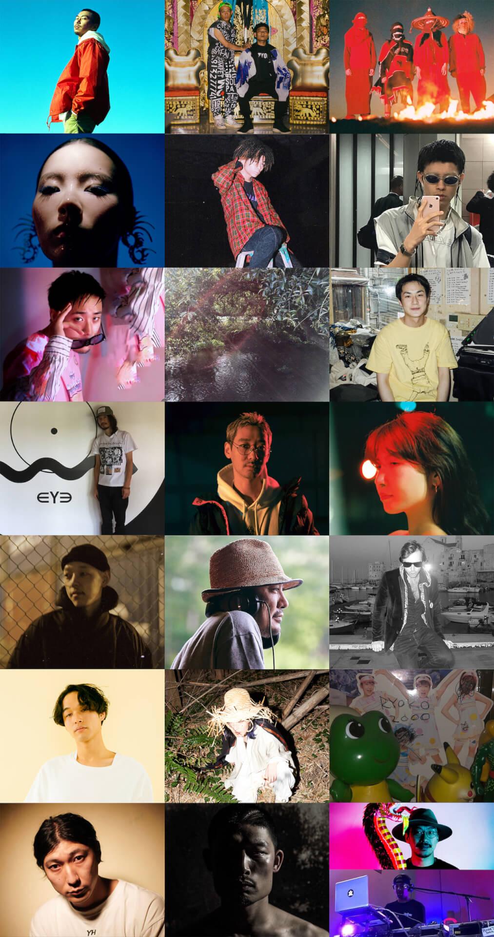 WWW/WWW X/WWWβのニューイヤーパーティー「INTO THE 2020」のフルラインアップが発表|カウントダウンアクトはTohjiとGEZAN music191210-www-into-the-2020-3