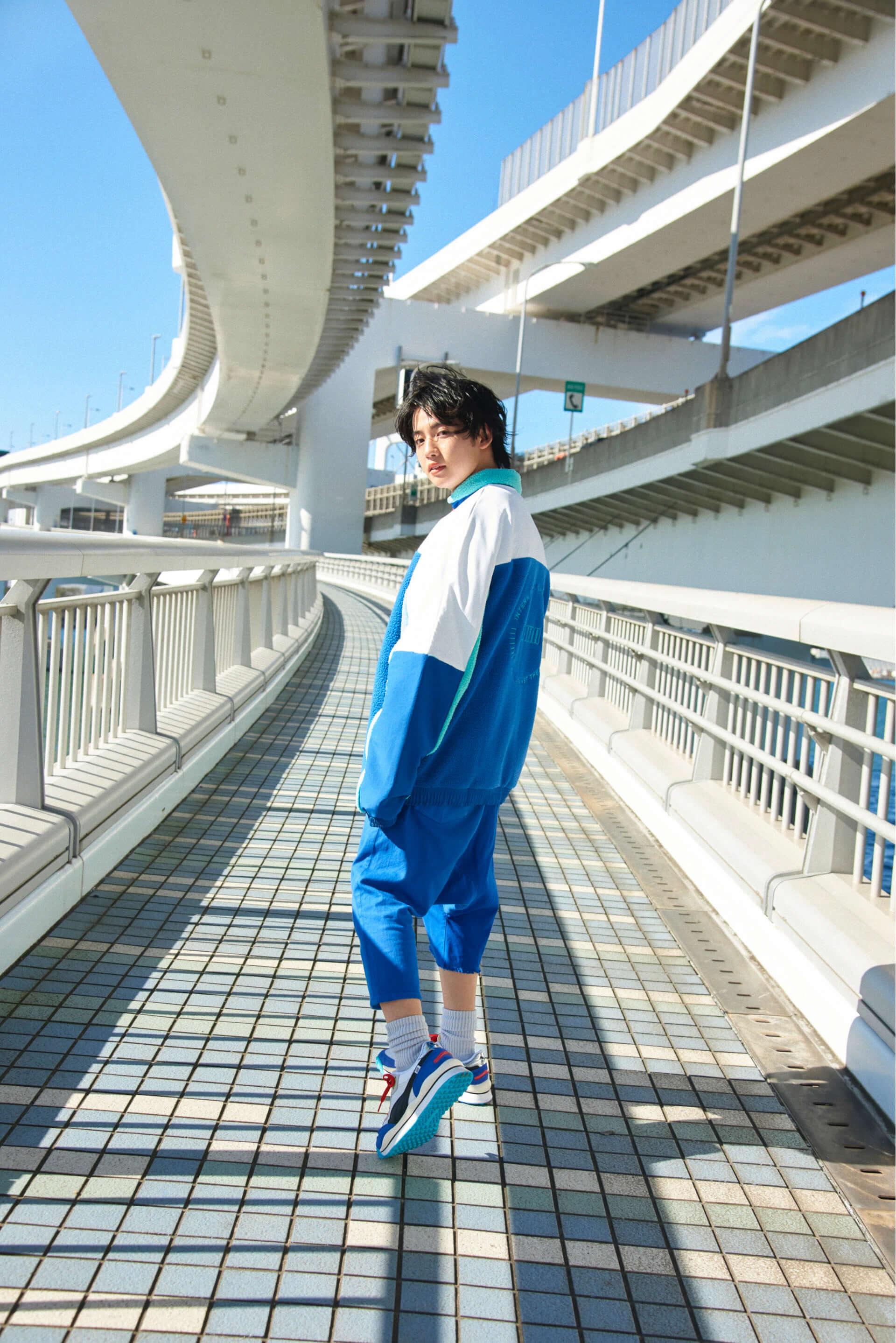 若手個性派俳優ゆうたろうがPUMA最新モデルを履きこなす!RIDE ONスペシャルサイトが公開中 life_fashion191211_puma_3-1920x2877