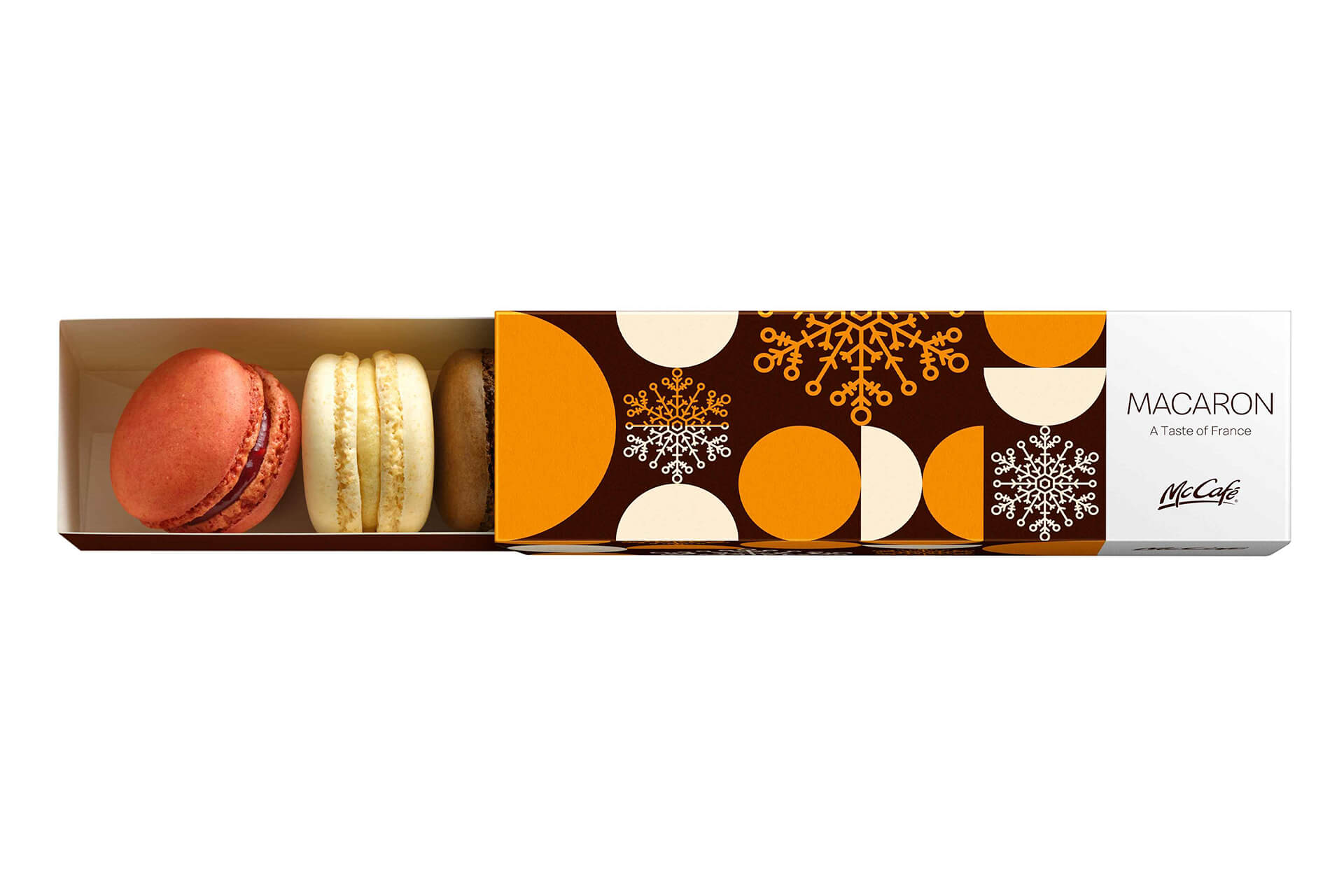 マクドナルド、新作メニュー「マカロン キャラメルシナモン」で寒い季節にほっと一息 gourmet191217-mccafe-macaroon
