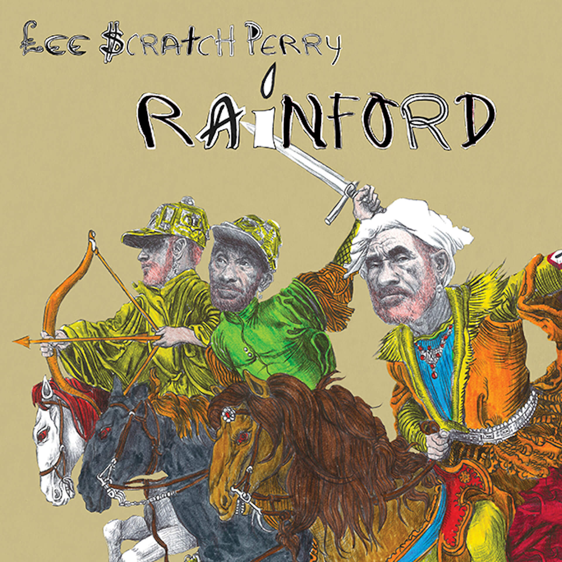"""Lee """"Scratch"""" Perry x Brain Eno x Adrian Sherwood、3人のコラボ作となる新曲「Here Come The Warm Dreads」のMVが解禁 music_191219_leescratchperry3"""