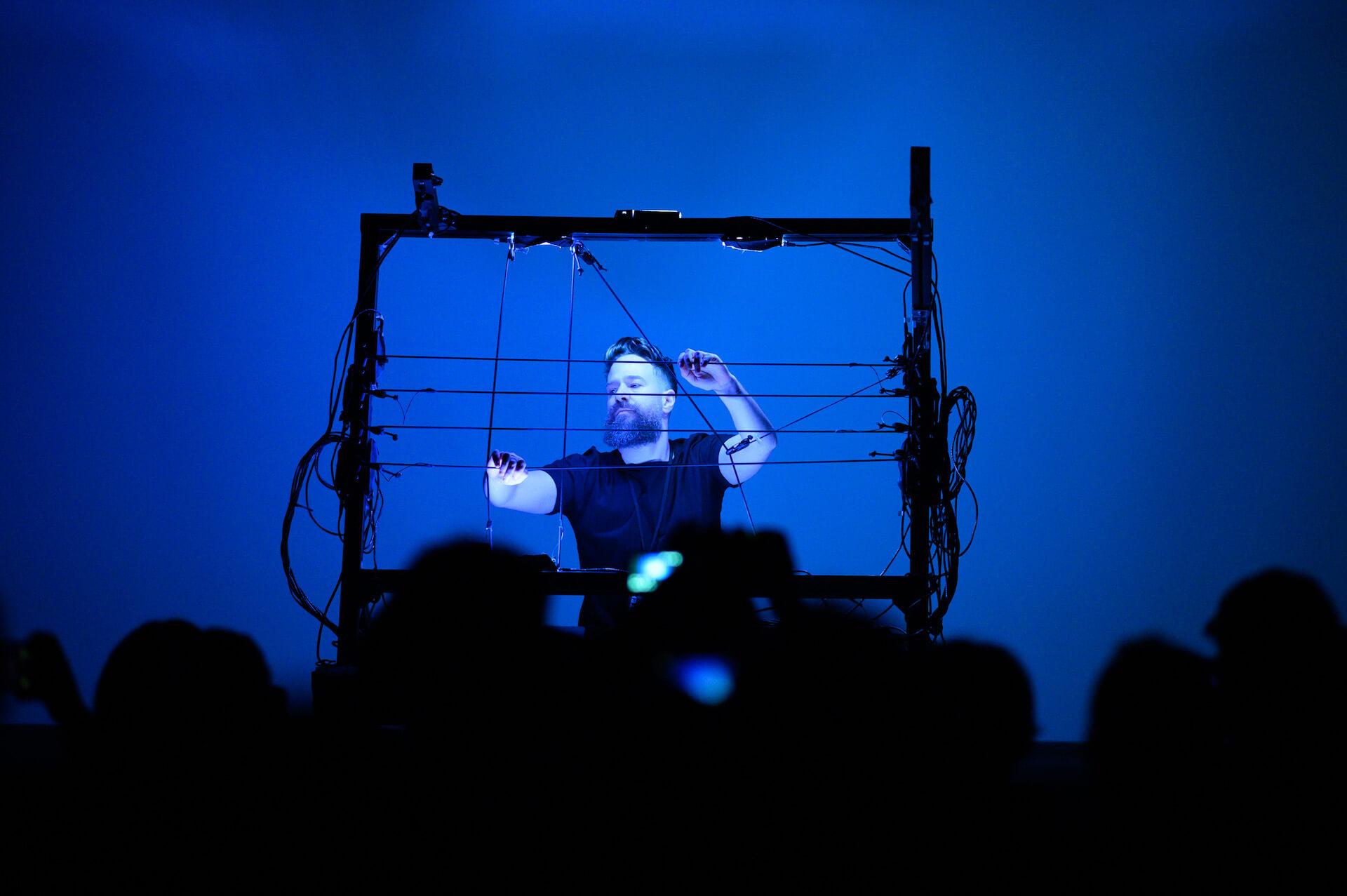 フォトレポート|Kode 9 & Koji Morimotoらが登場した電子音楽&デジタルアートの祭典「MUTEK.JP 2019」 music191219-mutek2019-1