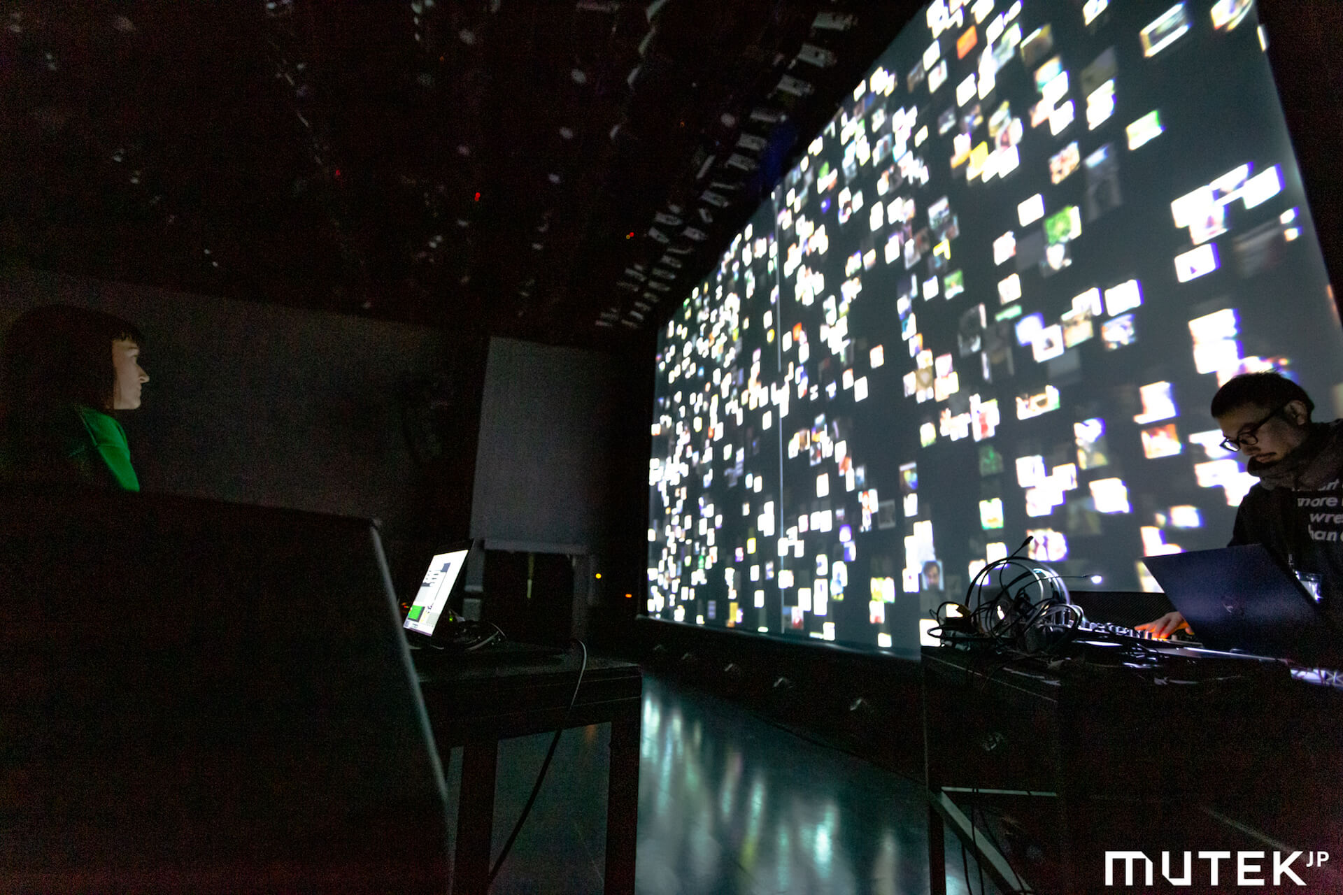 フォトレポート|Kode 9 & Koji Morimotoらが登場した電子音楽&デジタルアートの祭典「MUTEK.JP 2019」 music191219-mutek2019-2