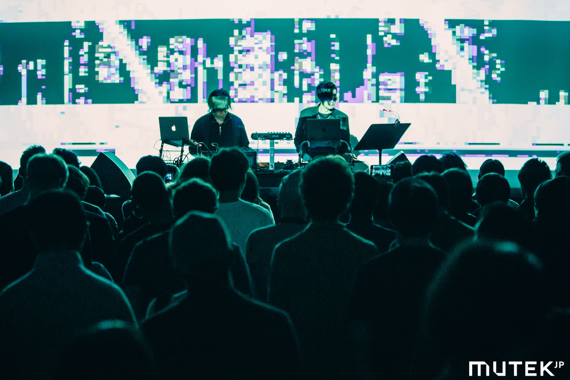 フォトレポート|Kode 9 & Koji Morimotoらが登場した電子音楽&デジタルアートの祭典「MUTEK.JP 2019」 music191219-mutek2019-4