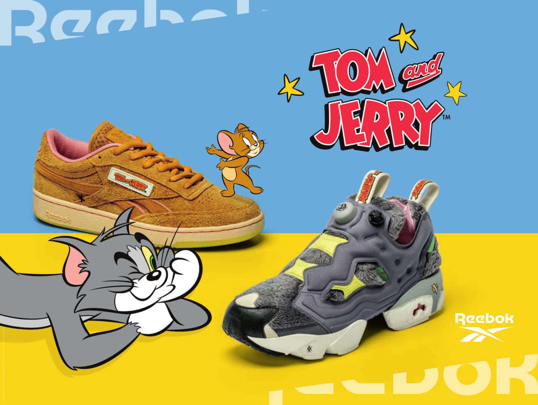 リーボックと『トムとジェリー』のコラボコレクション始動!アニメの世界観を表現したシューズ2種類が発売 lf191223_reeboktomjerry_01-1440x1084