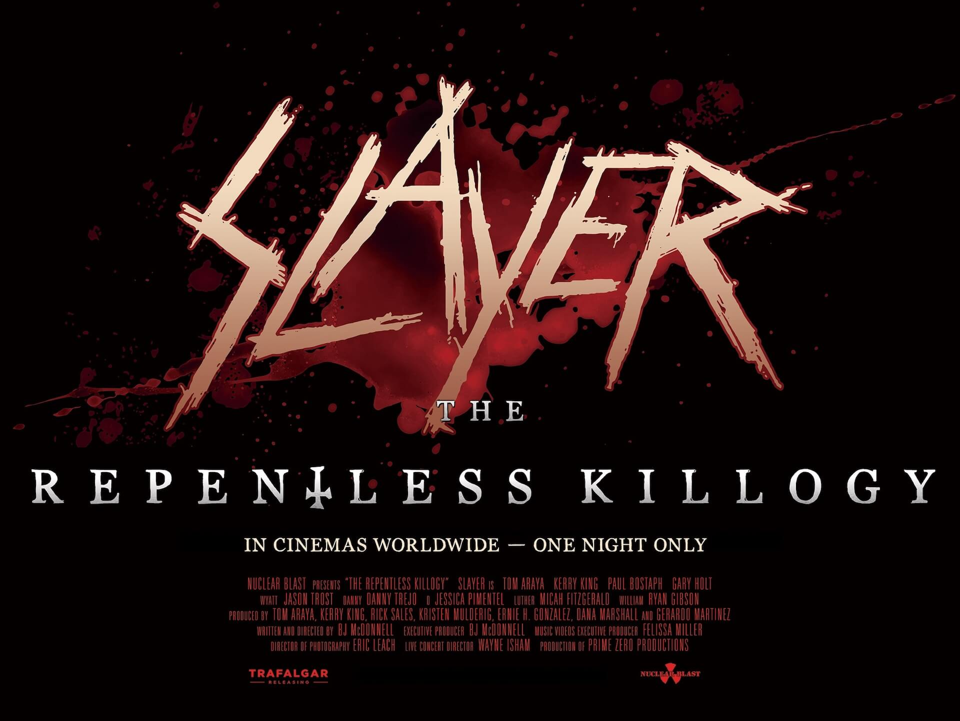 【チケプレ!】スレイヤーの轟音上映会でヘッドバンギング!ライブ・フィルム『SLAYER:THE REPENTLESS KILLOGY』のZepp上映会に計10組20名様をご招待! film191225_slayer_film_1