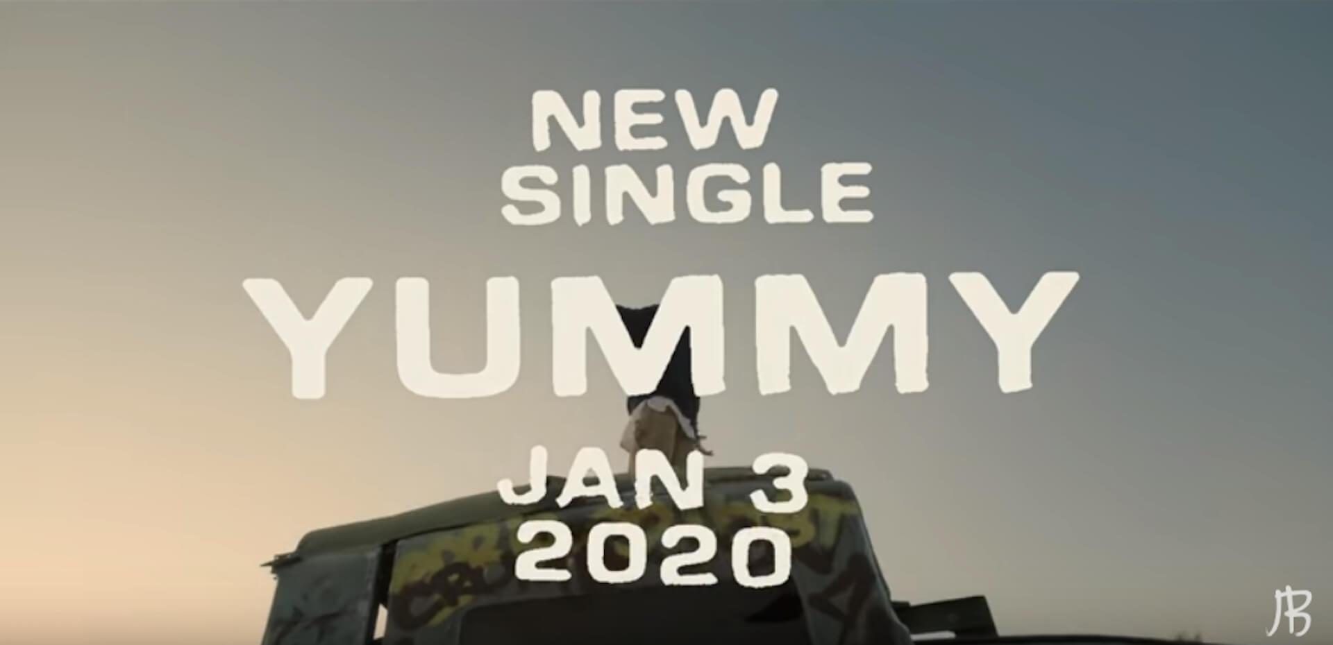 ジャスティン・ビーバーついに復活!新シングル「Yummy」リリース&新ドキュメンタリー発表|全米ツアーも開催 music191225_justinbieber_1