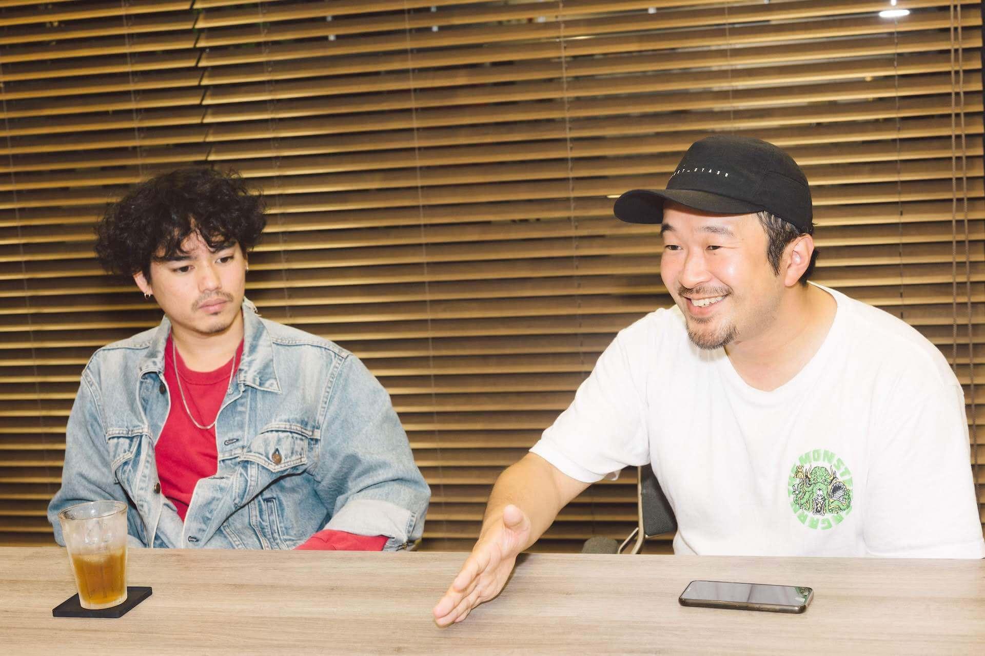 タイラダイスケ(FREE THROW)× Yuto Uchino(The fin.)対談|「FRIENDSHIP.」が目指す新しいアーティストサポートの形とは? interview1121_friendship-2