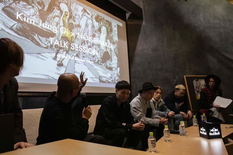 お互いの胸中がリンクした奇跡の一枚。NOISEMAKERとキム・ジョンギが『MAJOR-MINOR』のアートワークを語る interview-noisemaker-2592-1440x960