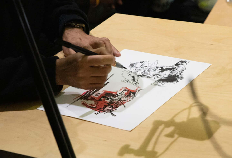 お互いの胸中がリンクした奇跡の一枚。NOISEMAKERとキム・ジョンギが『MAJOR-MINOR』のアートワークを語る interview-noisemaker-2748-1440x986