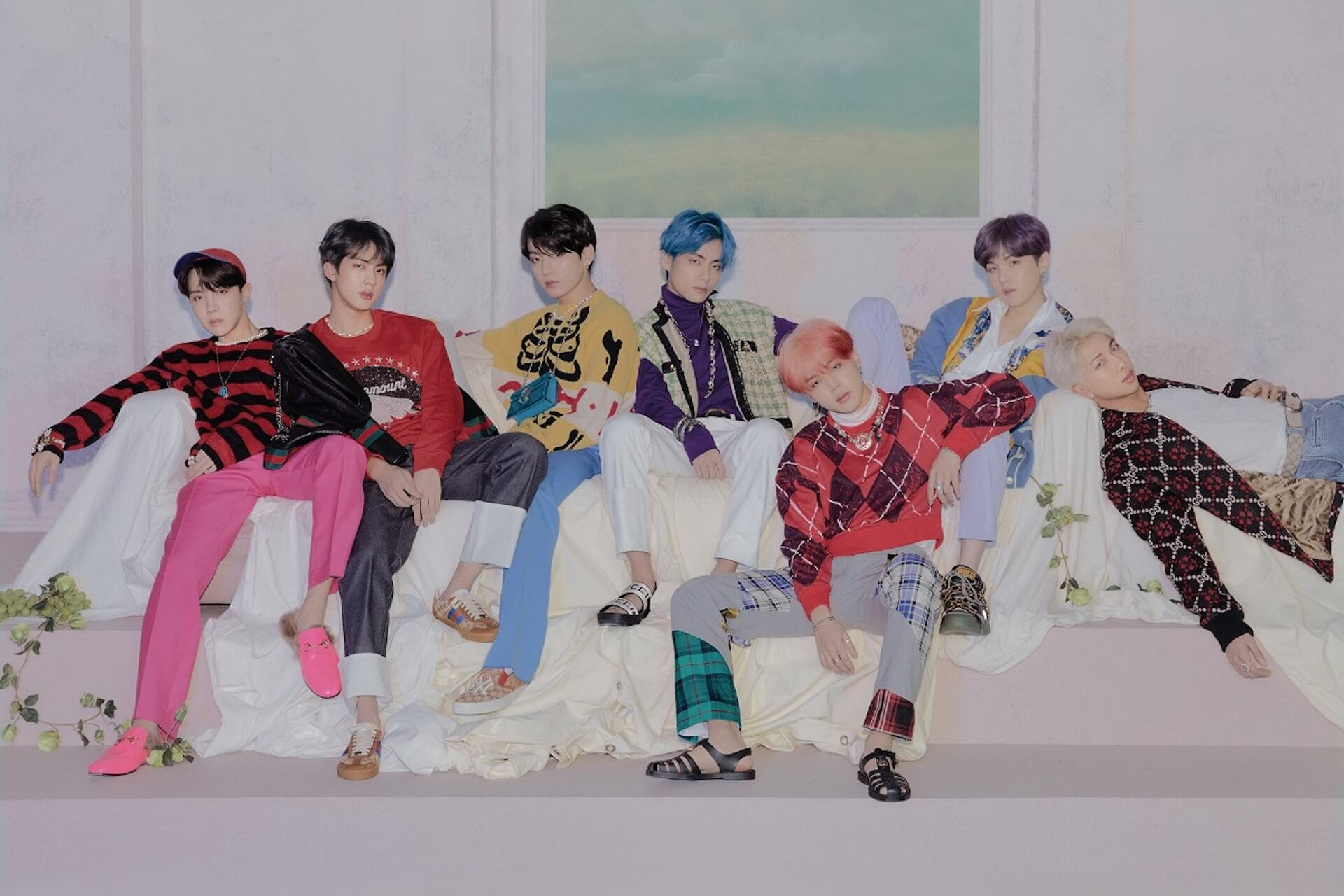 BTS、10ヶ月ぶりのニューアルバム『MAP OF THE SOUL : 7』のリリースを発表! music200108_bts_main