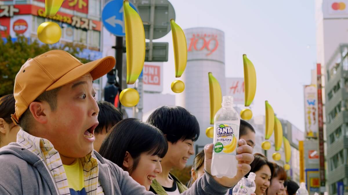 菅田将暉が巨大な街頭ビジョンから訴える!新TVCMが放映開始|2018年一番驚いたことを語る artculture190111_fanta_04