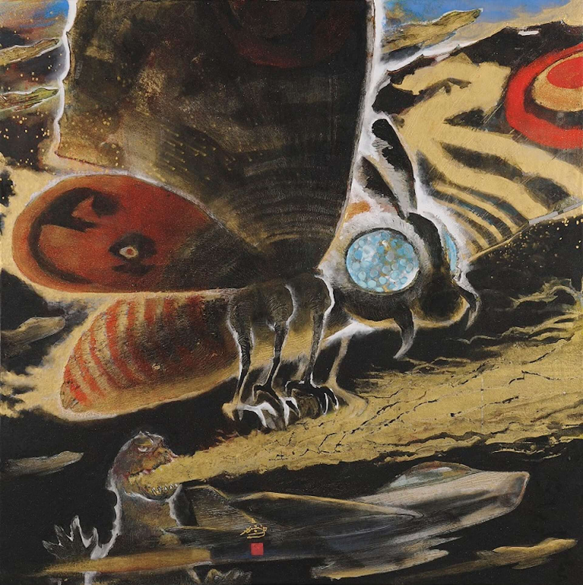 ゴジラが日本画で描かれる!展覧会<村上裕二日本画展 「怪獣王ゴジラの世界」>&<「怪獣王GODZILLA」村上裕二日本画展>が開催決定 artculture200115_godzilla_2-1920x1925