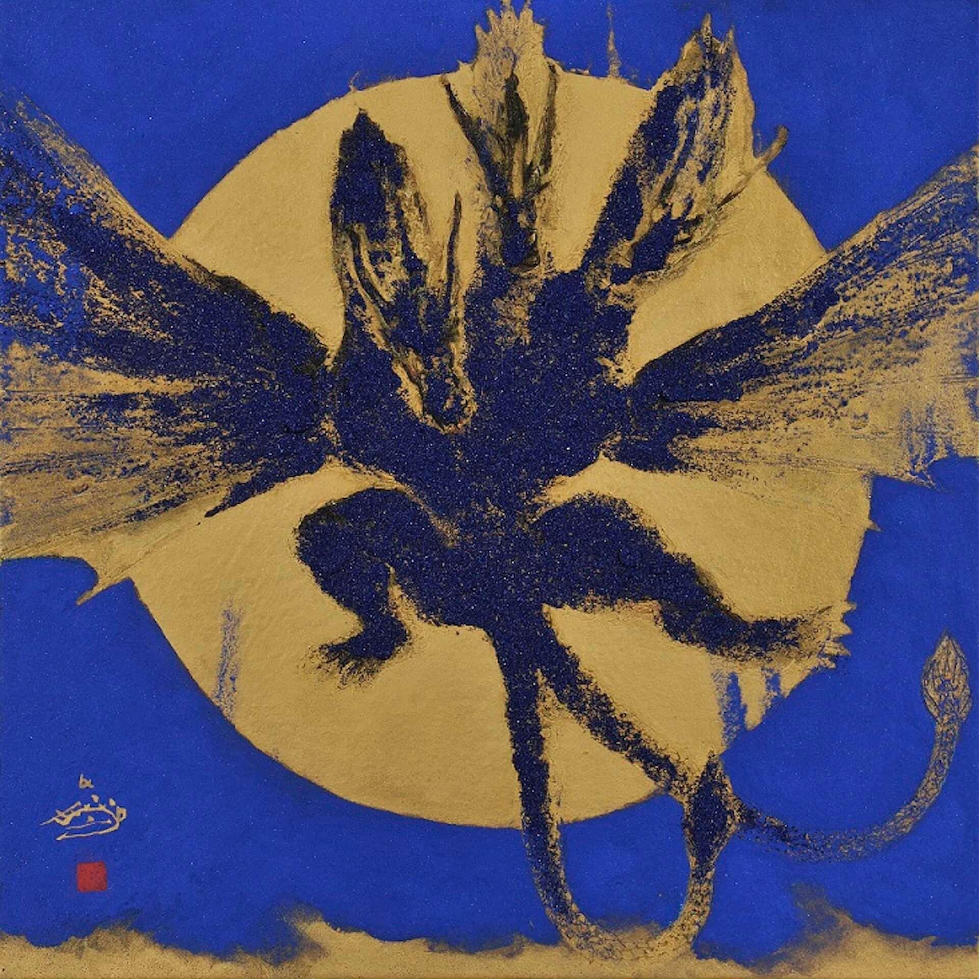 ゴジラが日本画で描かれる!展覧会<村上裕二日本画展 「怪獣王ゴジラの世界」>&<「怪獣王GODZILLA」村上裕二日本画展>が開催決定 artculture200115_godzilla_4-1920x1920