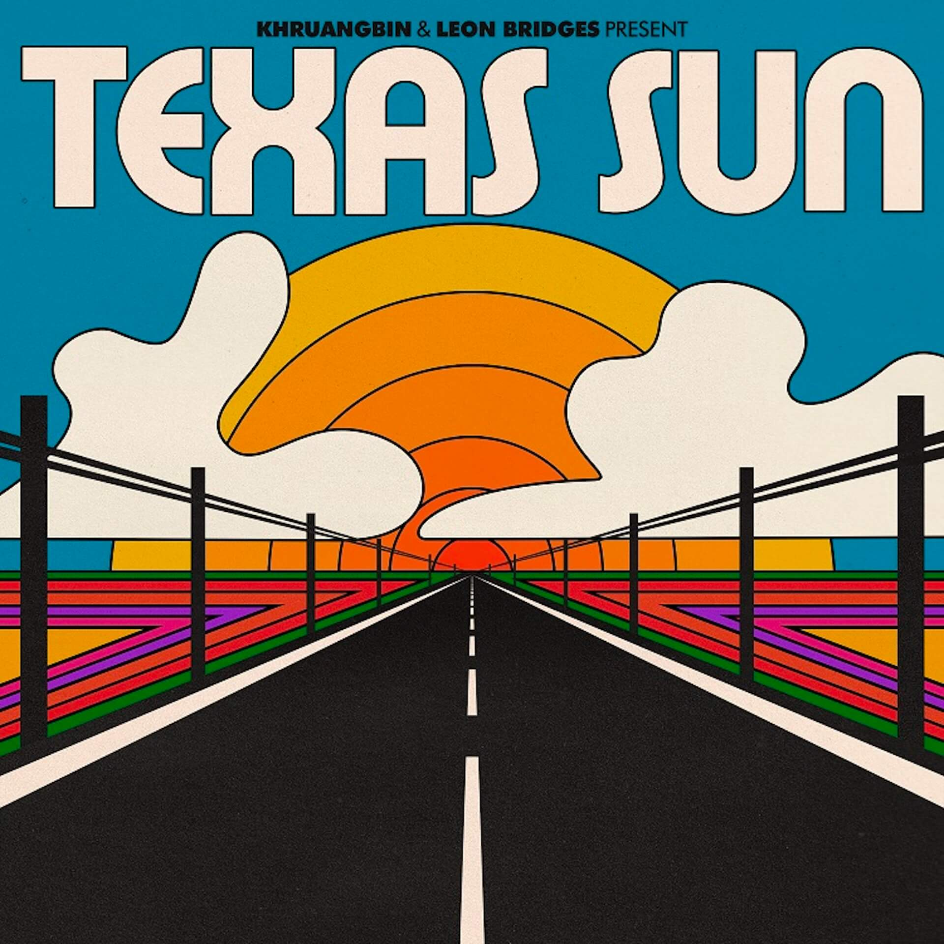 異色のタッグ、クルアンビン&リオン・ブリッジズがコラボEP『Texas Sun』より「C-Side」を公開 music200116_khruangbin_leonbridges_2