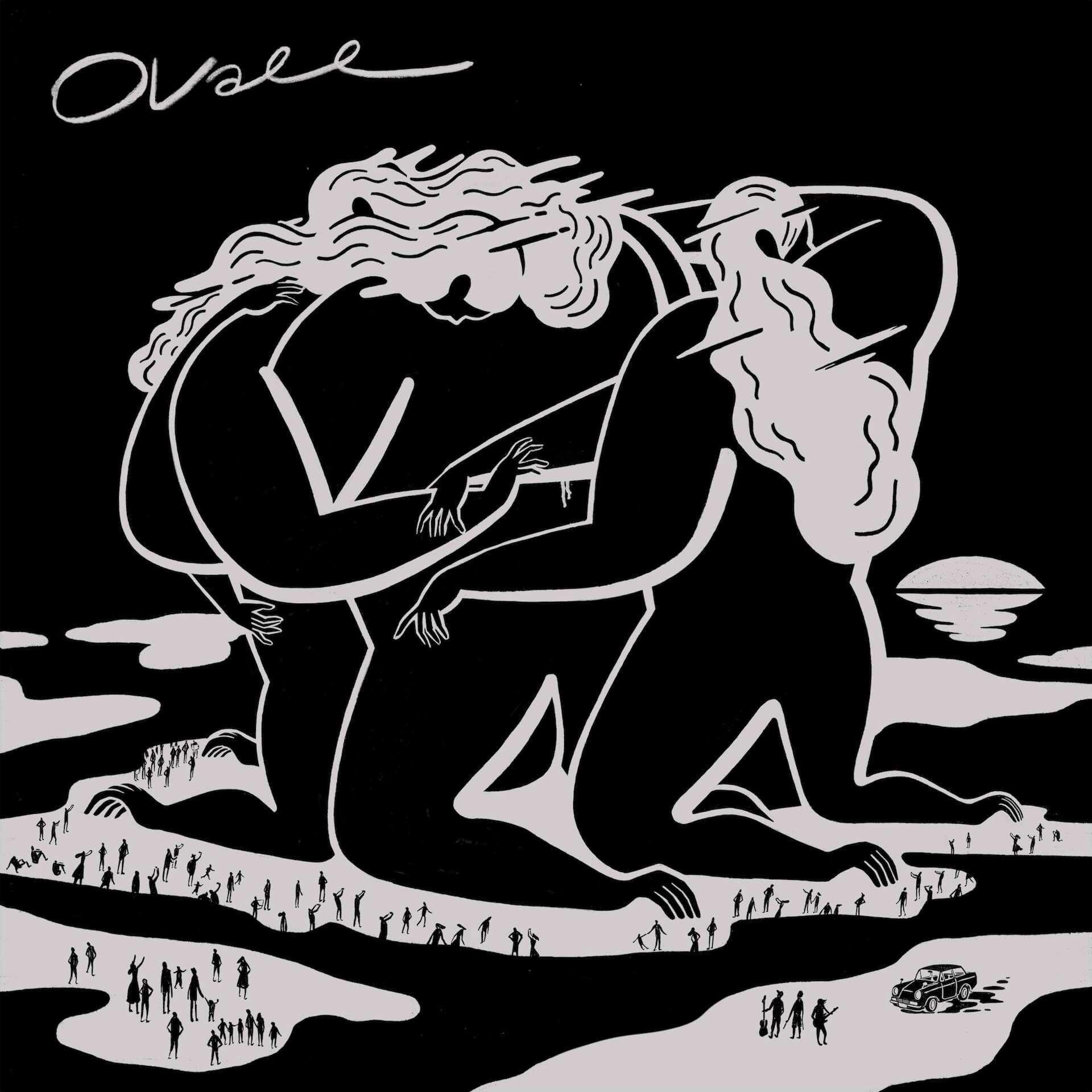Ovall、最新のセルフタイトルアルバムをアナログ化|WONKのHIKARU ARATA、KENTO NAGATSUKAによる「Stargazer Rework」収録 music200117_ovall_lp_1