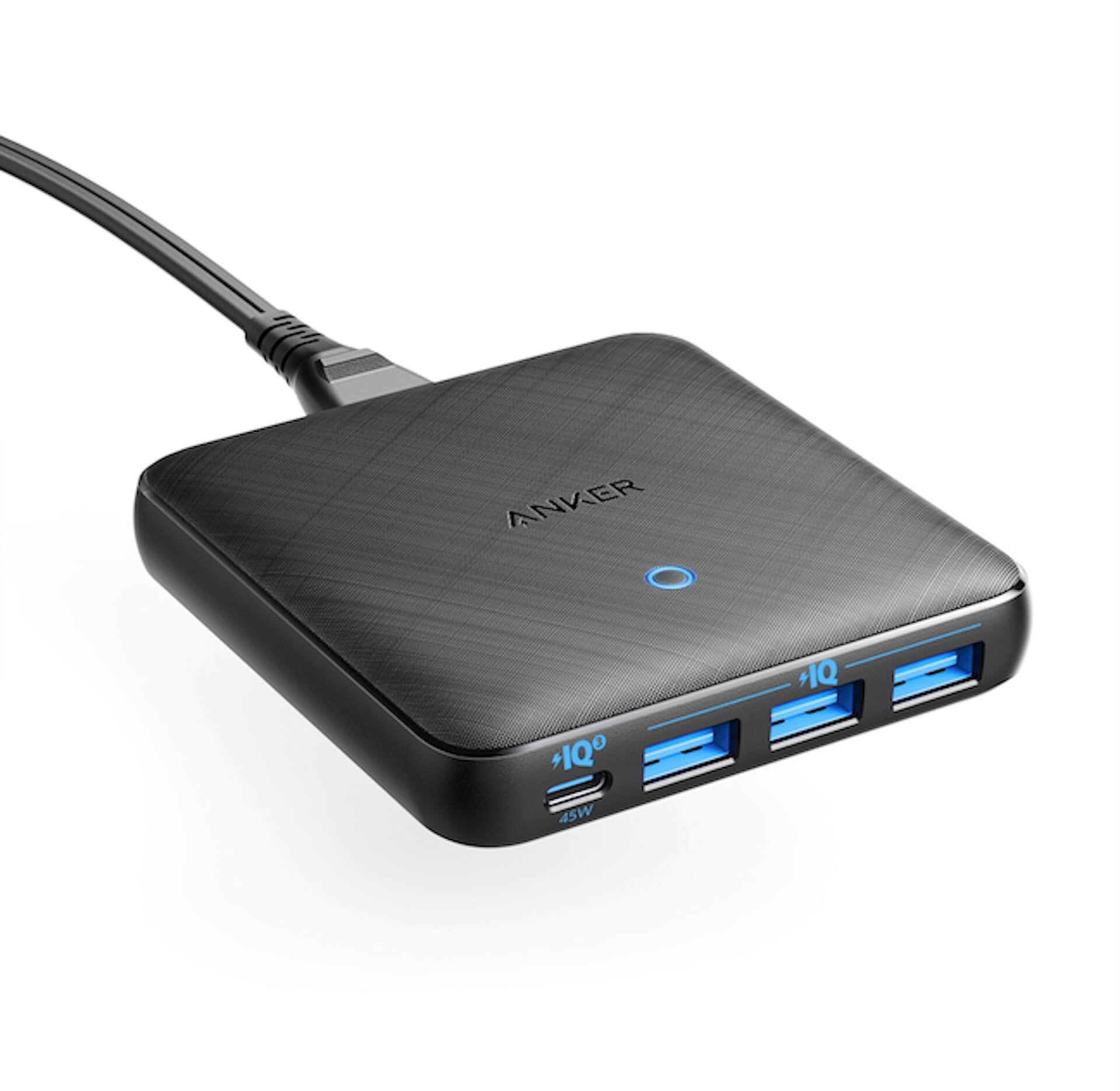 Ankerの最新急速スマホ充電器が超薄くて高性能!「Anker PowerPort Atom lll Slim(Four Ports)」発売 tech200117_anker_charge_1