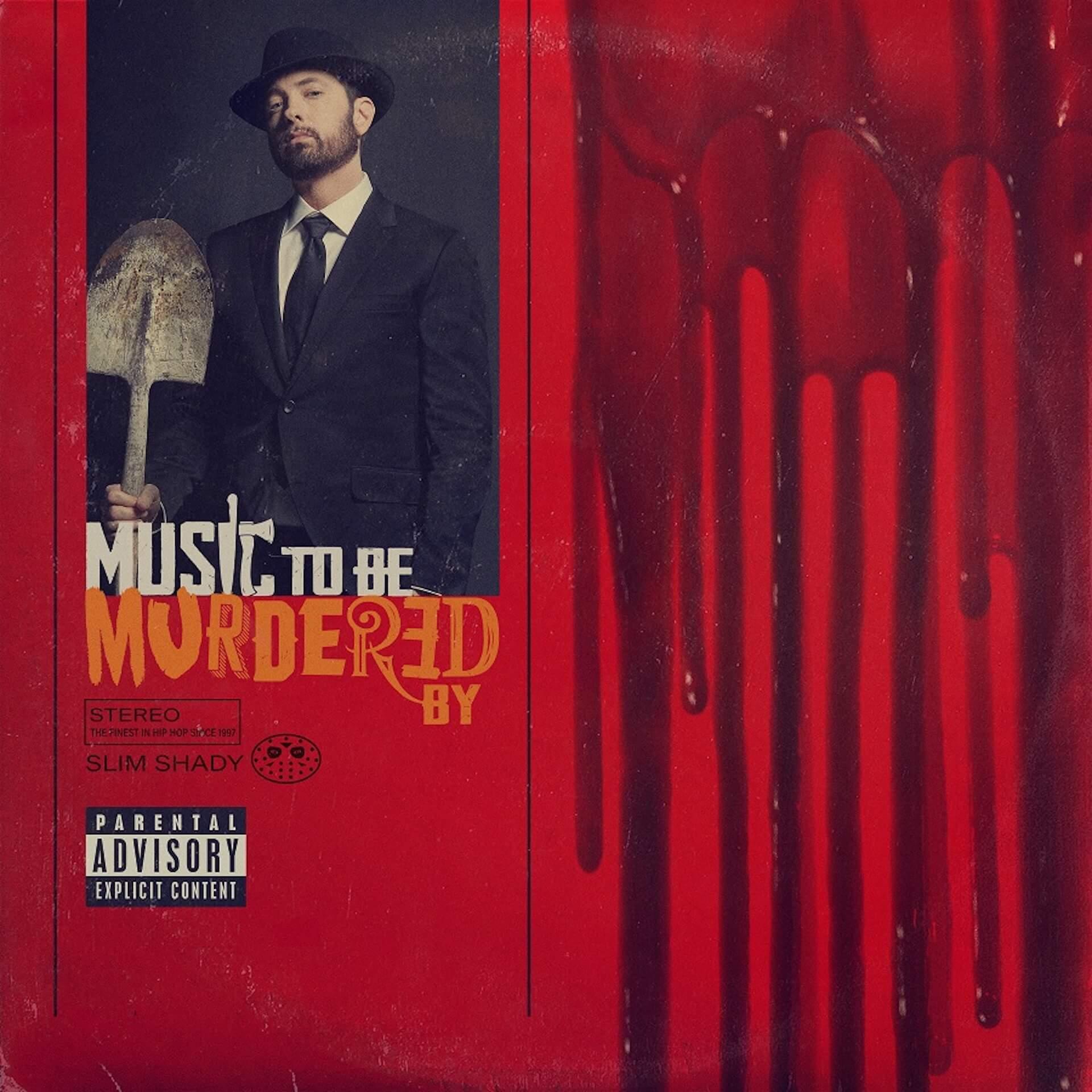 エミネム、新作『Music To Be Murdered By』をサプライズリリース!アンダーソン・パーク、ジュース・ワールドら豪華ゲストが参加 music200117_eminem_album_2