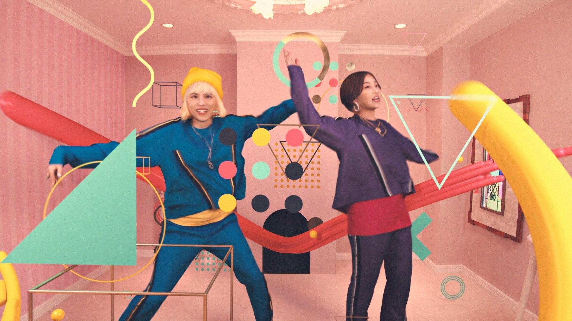 chelmico、アニメ『映像研には手を出すな!』主題歌「Easy Breezy」のMVを公開 music200119_chelmico_3