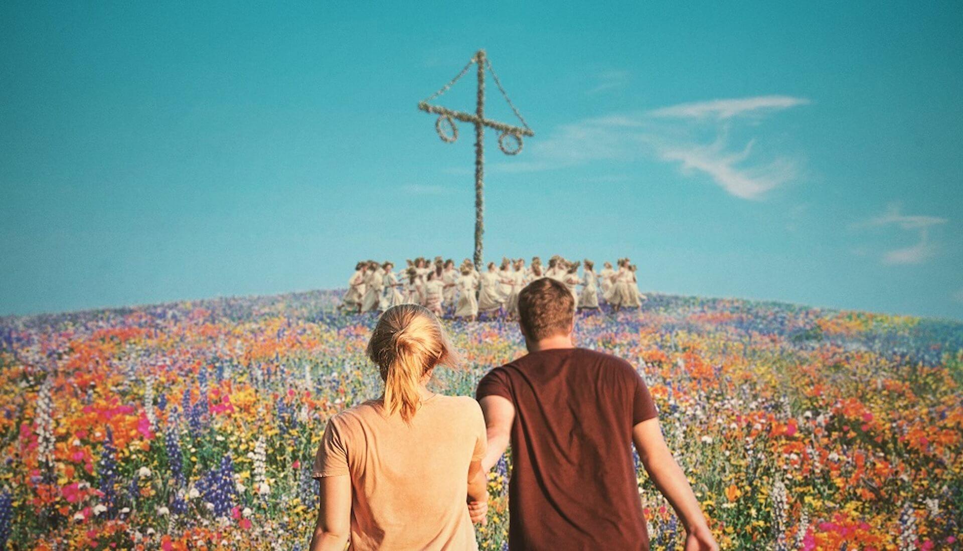 TwitterやInstagramで祝祭が始まる…映画『ミッドサマー』SNSお花畑プレゼントキャンペーンが実施 film200120_midsommarflower_01