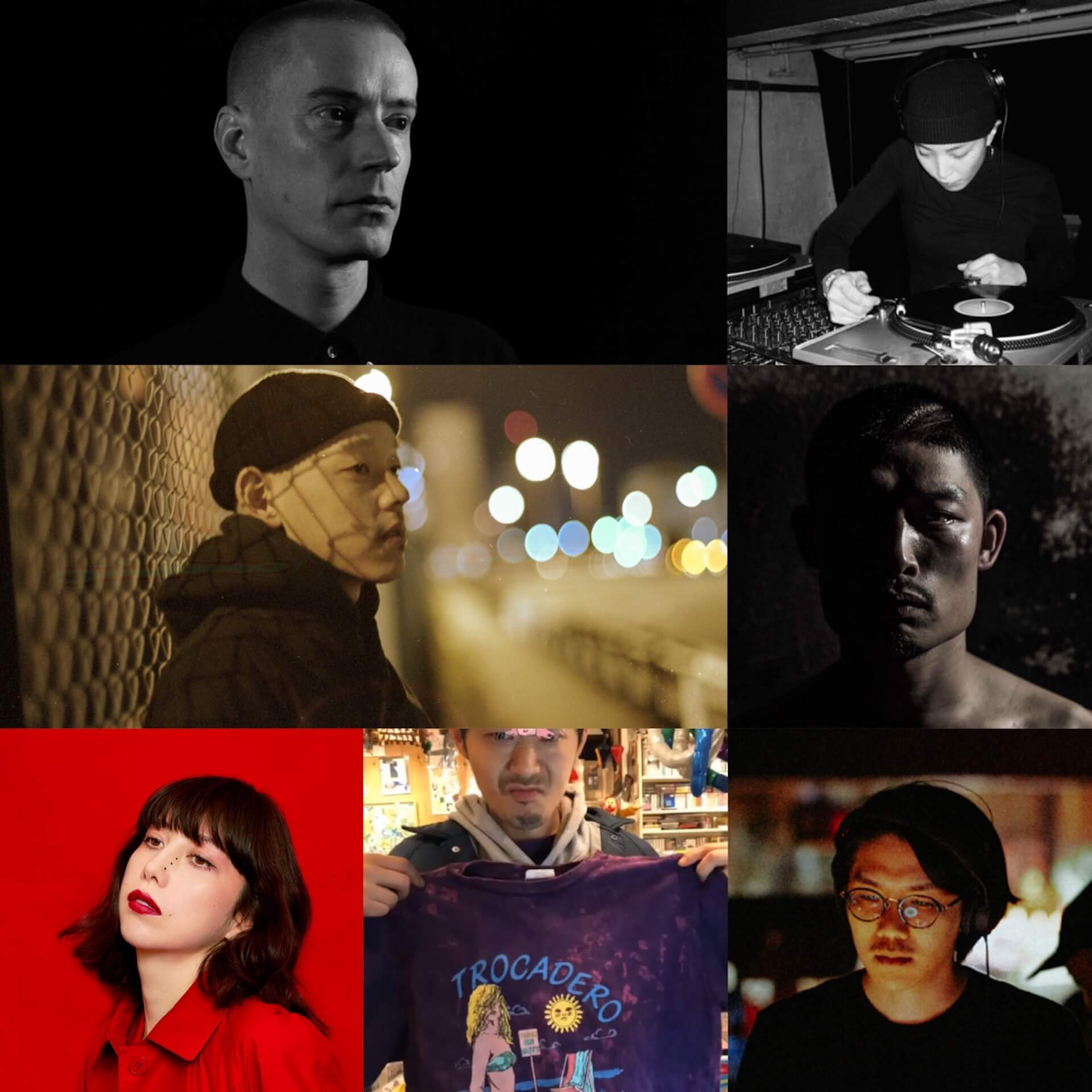 Mars89『THE DROOGS』リリースパーティのフルラインナップが明らかに!PINCH、UNDERCOVERからJUN TAKAHASHIも登場 mu200120_mars89_thedroogs_lineup_02