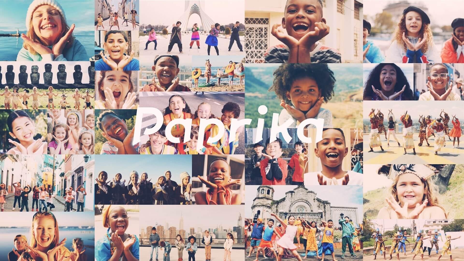 世界各地で子供たちがパプリカ!Foorin team E「Paprika」World Videoがついに公開 music200120_paprika_mv_1