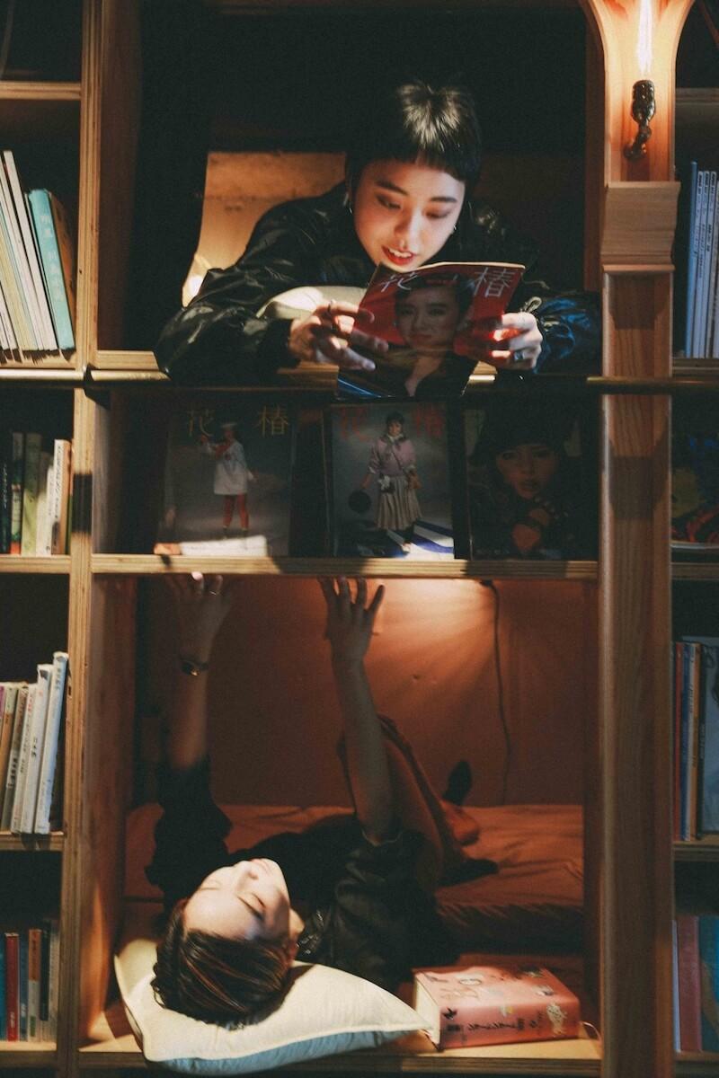 コウキシン女子の初体験vol.12サエコ / 夏:BOOK AND BED TOKYO feature190121_koukishinjyoshi_26