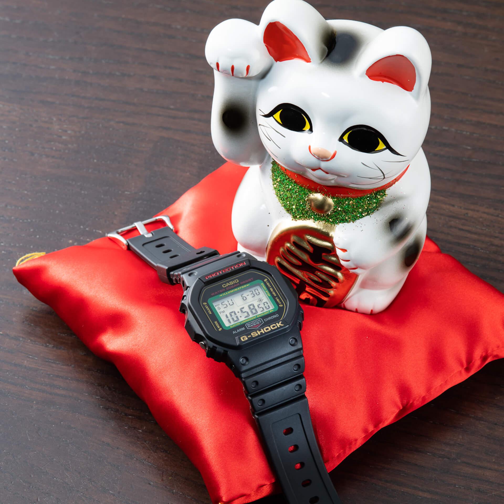 幸福を呼ぶG-SHOCK「MANEKINEKO」が誕生|BlackEyePatchデザインによる招き猫のイラストも life200122_gshock_bep_9