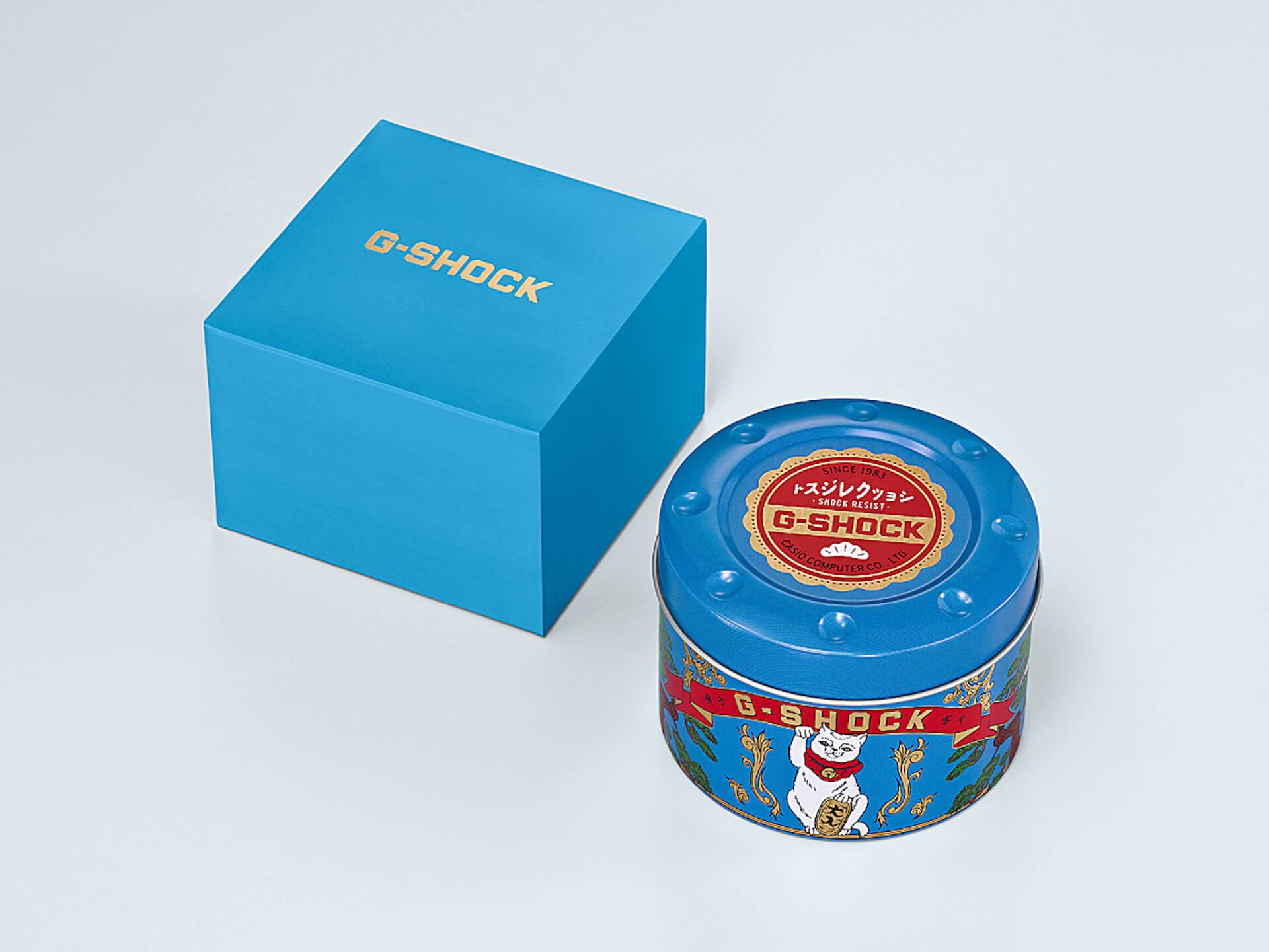 幸福を呼ぶG-SHOCK「MANEKINEKO」が誕生|BlackEyePatchデザインによる招き猫のイラストも life200122_gshock_bep_3
