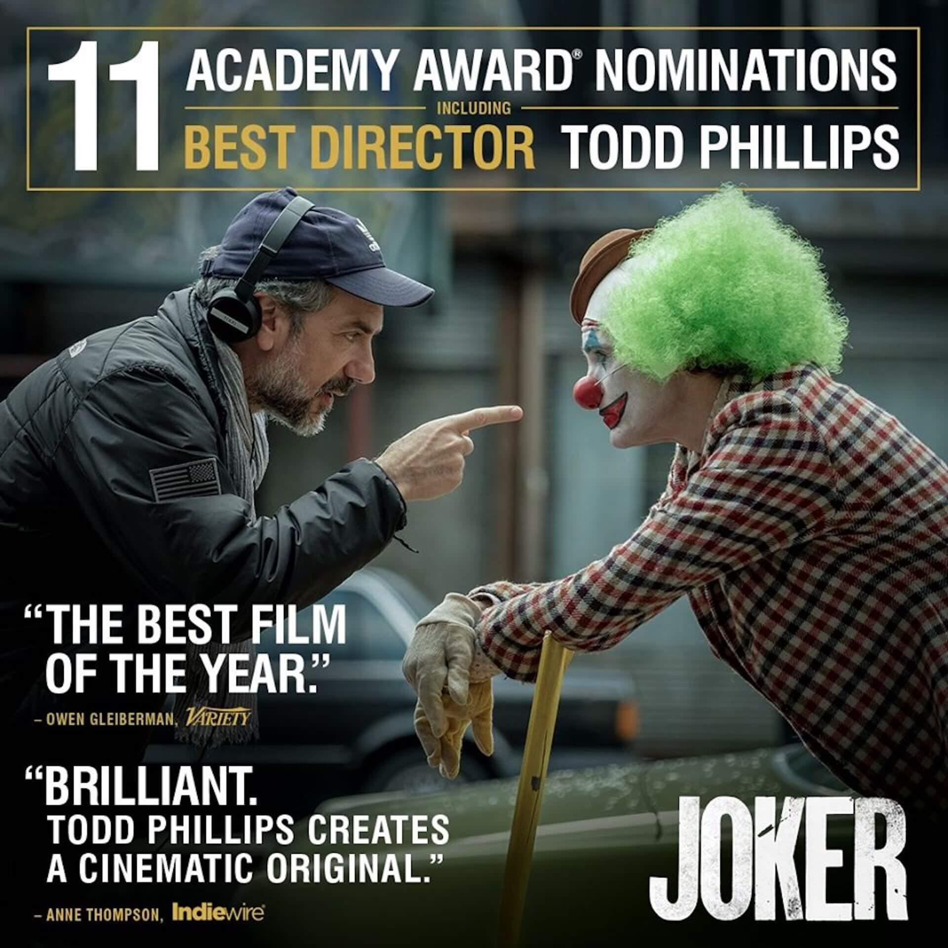アカデミー賞ノミネート『ジョーカー』監督トッド・フィリップス、数多くのバッシングに「困惑した」と語る film200122_joker_toddphillips_main