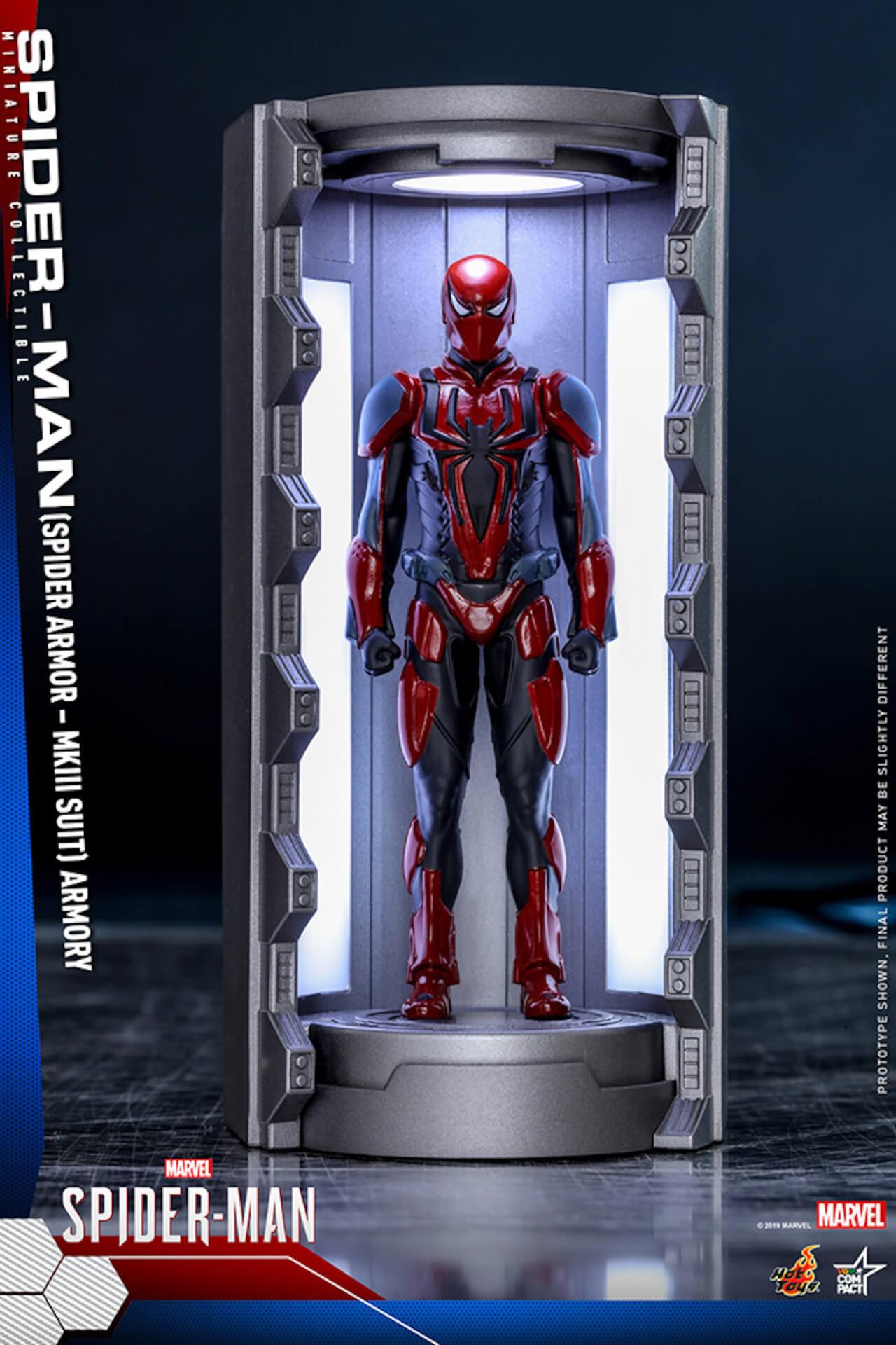 6つのスパイダーマン・スーツが勢ぞろい!大人気PS4用ゲームソフト『Marvel's Spider-Man』からミニチュア・フィギュアが登場 art200124_spiderman_hottoys_3