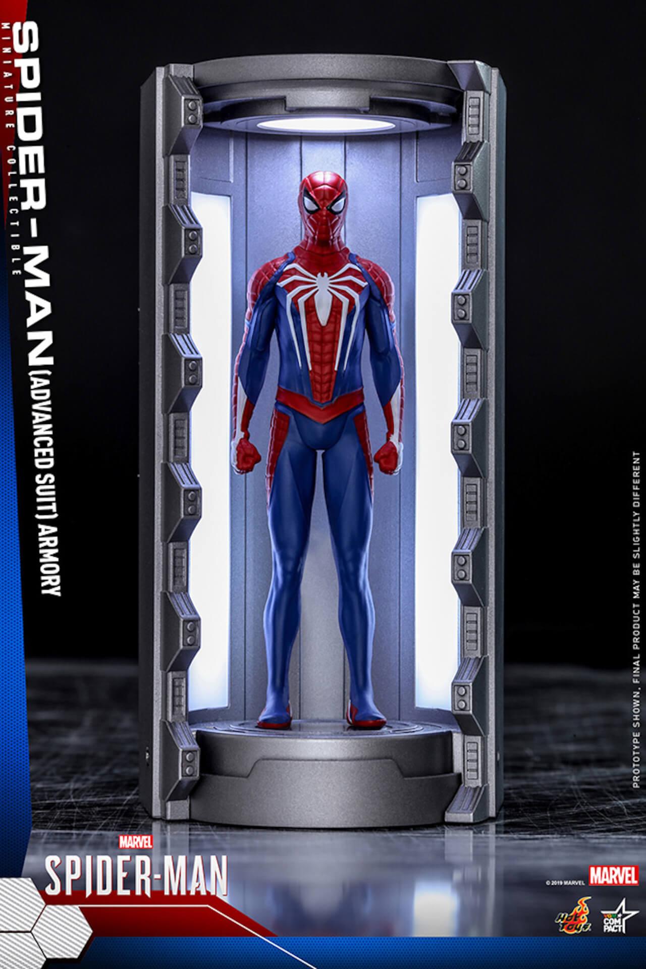 6つのスパイダーマン・スーツが勢ぞろい!大人気PS4用ゲームソフト『Marvel's Spider-Man』からミニチュア・フィギュアが登場 art200124_spiderman_hottoys_6