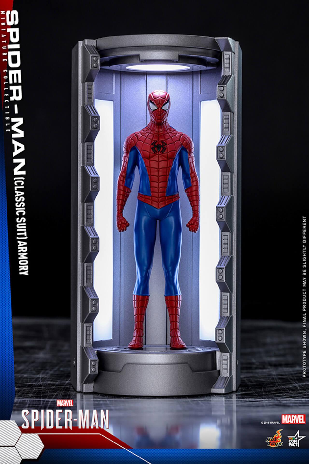 6つのスパイダーマン・スーツが勢ぞろい!大人気PS4用ゲームソフト『Marvel's Spider-Man』からミニチュア・フィギュアが登場 art200124_spiderman_hottoys_5