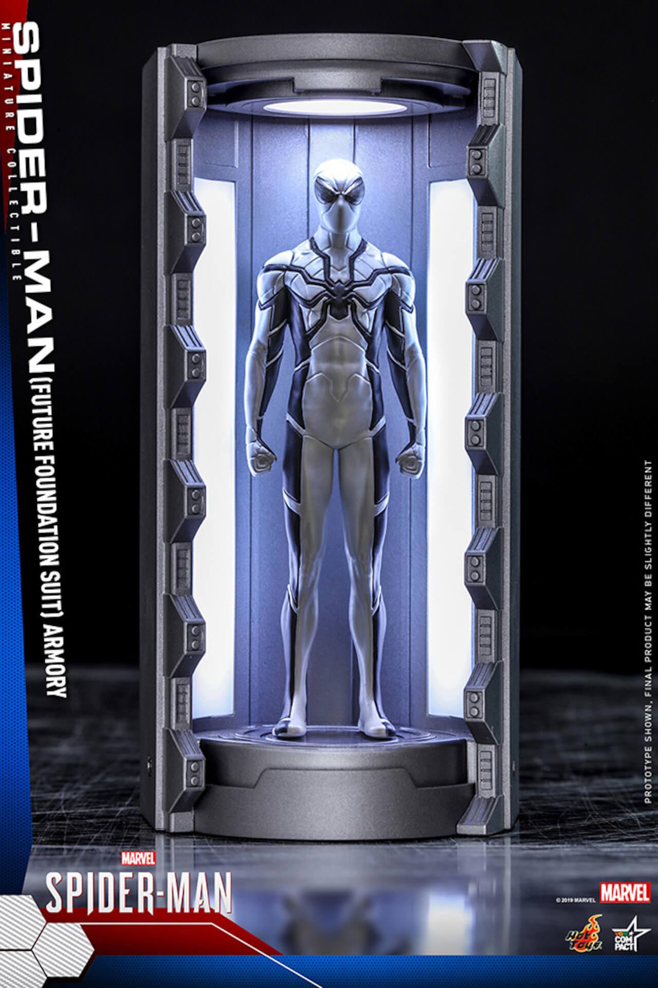 6つのスパイダーマン・スーツが勢ぞろい!大人気PS4用ゲームソフト『Marvel's Spider-Man』からミニチュア・フィギュアが登場 art200124_spiderman_hottoys_4