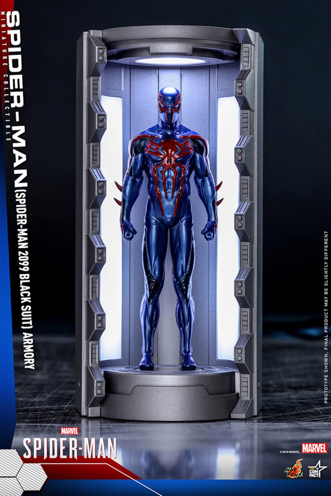 6つのスパイダーマン・スーツが勢ぞろい!大人気PS4用ゲームソフト『Marvel's Spider-Man』からミニチュア・フィギュアが登場 art200124_spiderman_hottoys_1