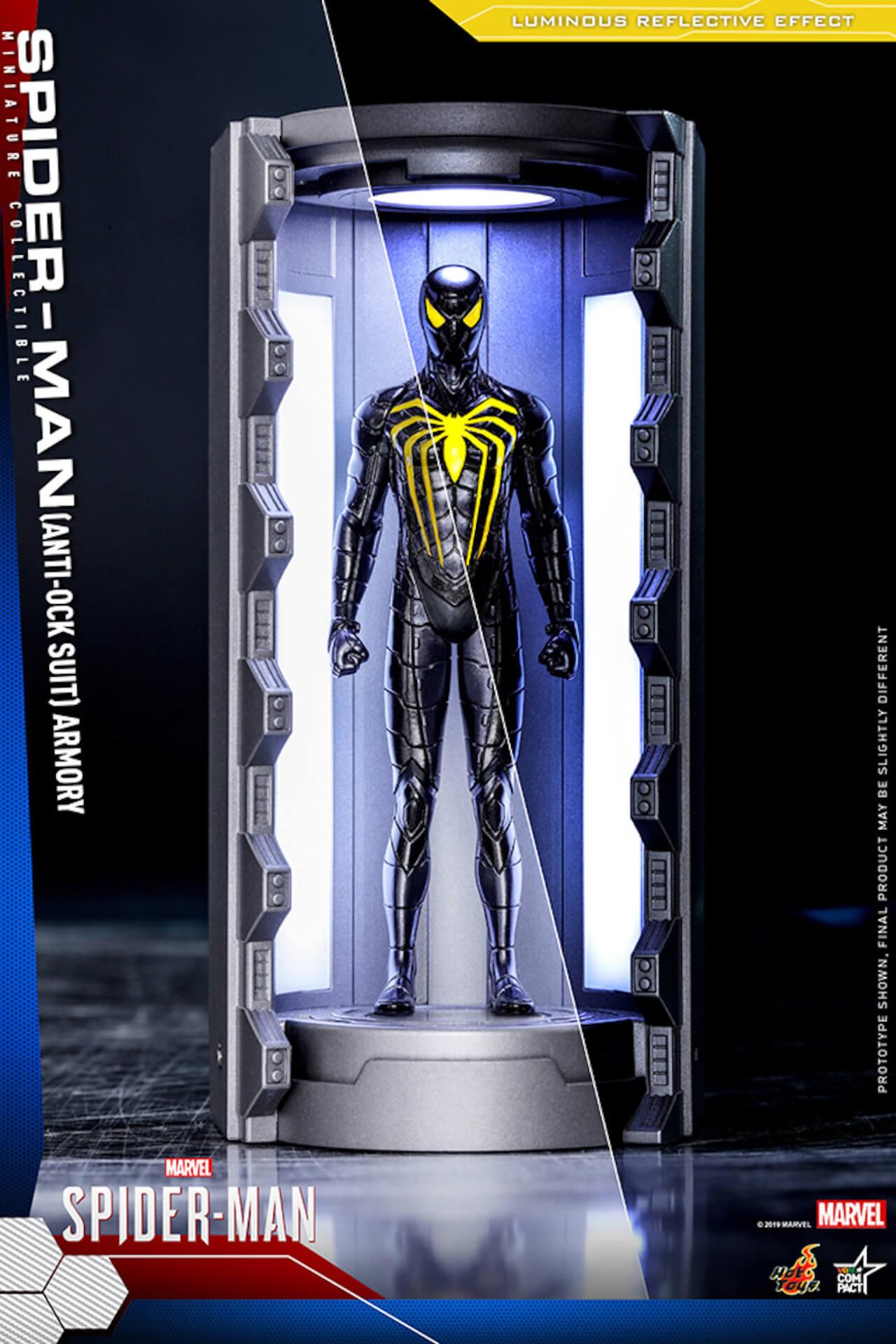 6つのスパイダーマン・スーツが勢ぞろい!大人気PS4用ゲームソフト『Marvel's Spider-Man』からミニチュア・フィギュアが登場 art200124_spiderman_hottoys_2