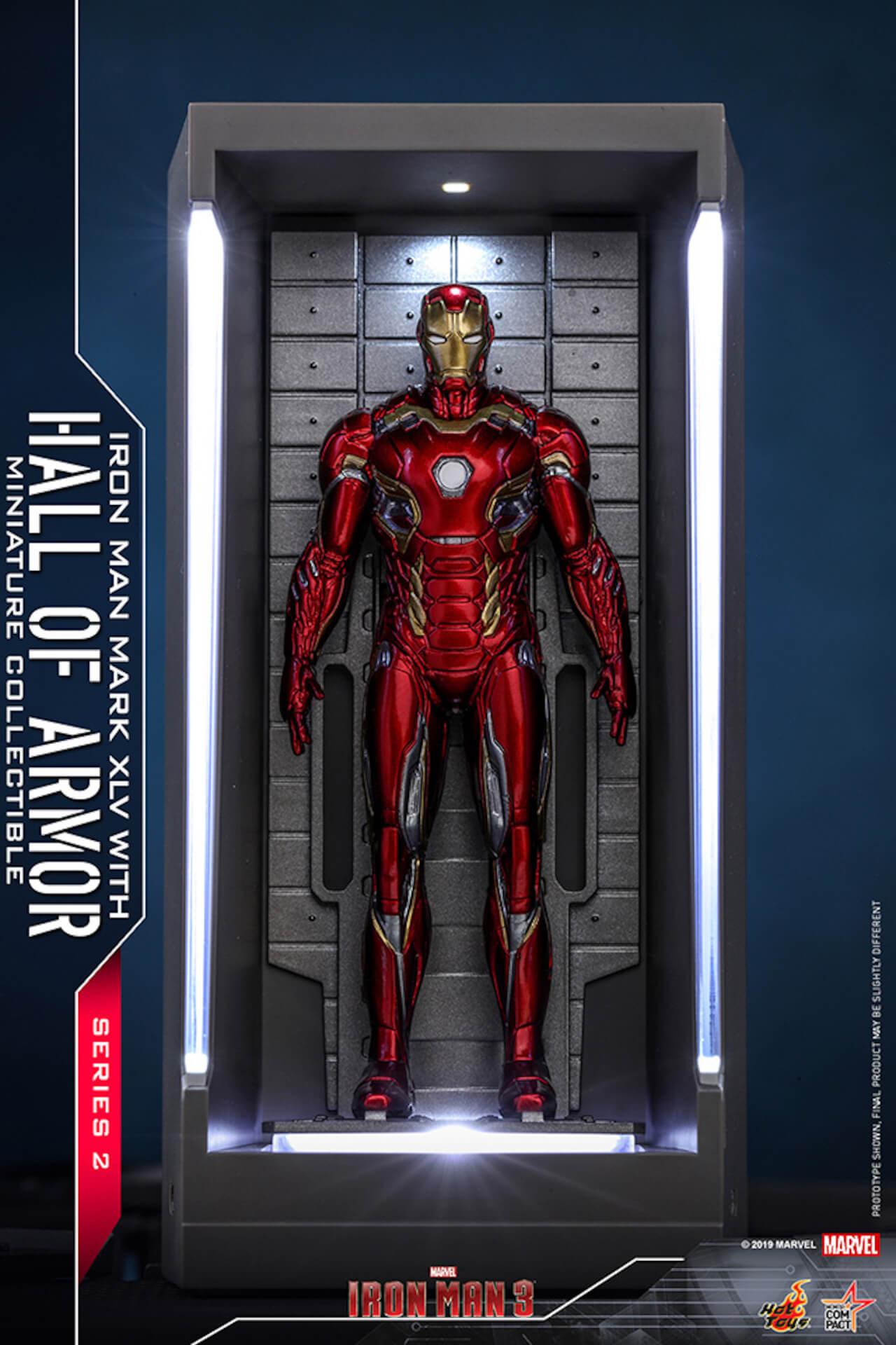 『アイアンマン3』に登場するアーマーが手のひらサイズに!ホットトイズからアイアンマンのミニチュアシリーズ2がホール・オブ・アーマー付き6体セットで発売! ac200124_hottoys_ironman_04