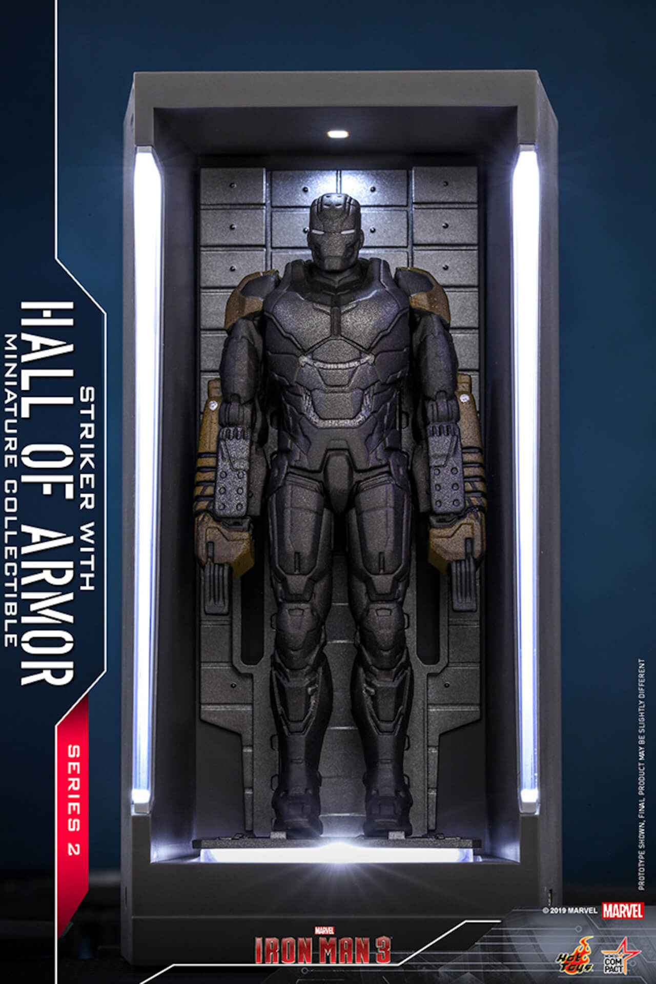 『アイアンマン3』に登場するアーマーが手のひらサイズに!ホットトイズからアイアンマンのミニチュアシリーズ2がホール・オブ・アーマー付き6体セットで発売! ac200124_hottoys_ironman_07