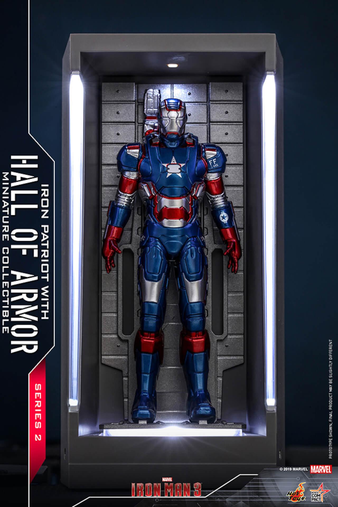 『アイアンマン3』に登場するアーマーが手のひらサイズに!ホットトイズからアイアンマンのミニチュアシリーズ2がホール・オブ・アーマー付き6体セットで発売! ac200124_hottoys_ironman_08