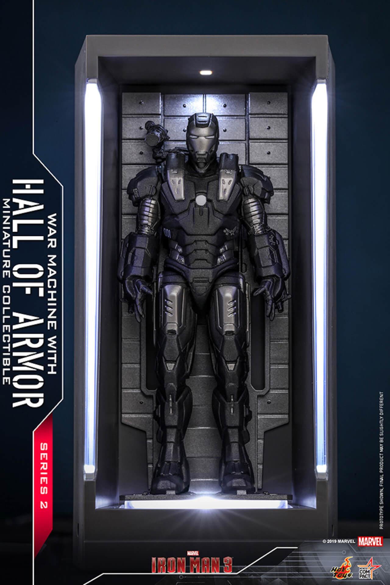 『アイアンマン3』に登場するアーマーが手のひらサイズに!ホットトイズからアイアンマンのミニチュアシリーズ2がホール・オブ・アーマー付き6体セットで発売! ac200124_hottoys_ironman_09