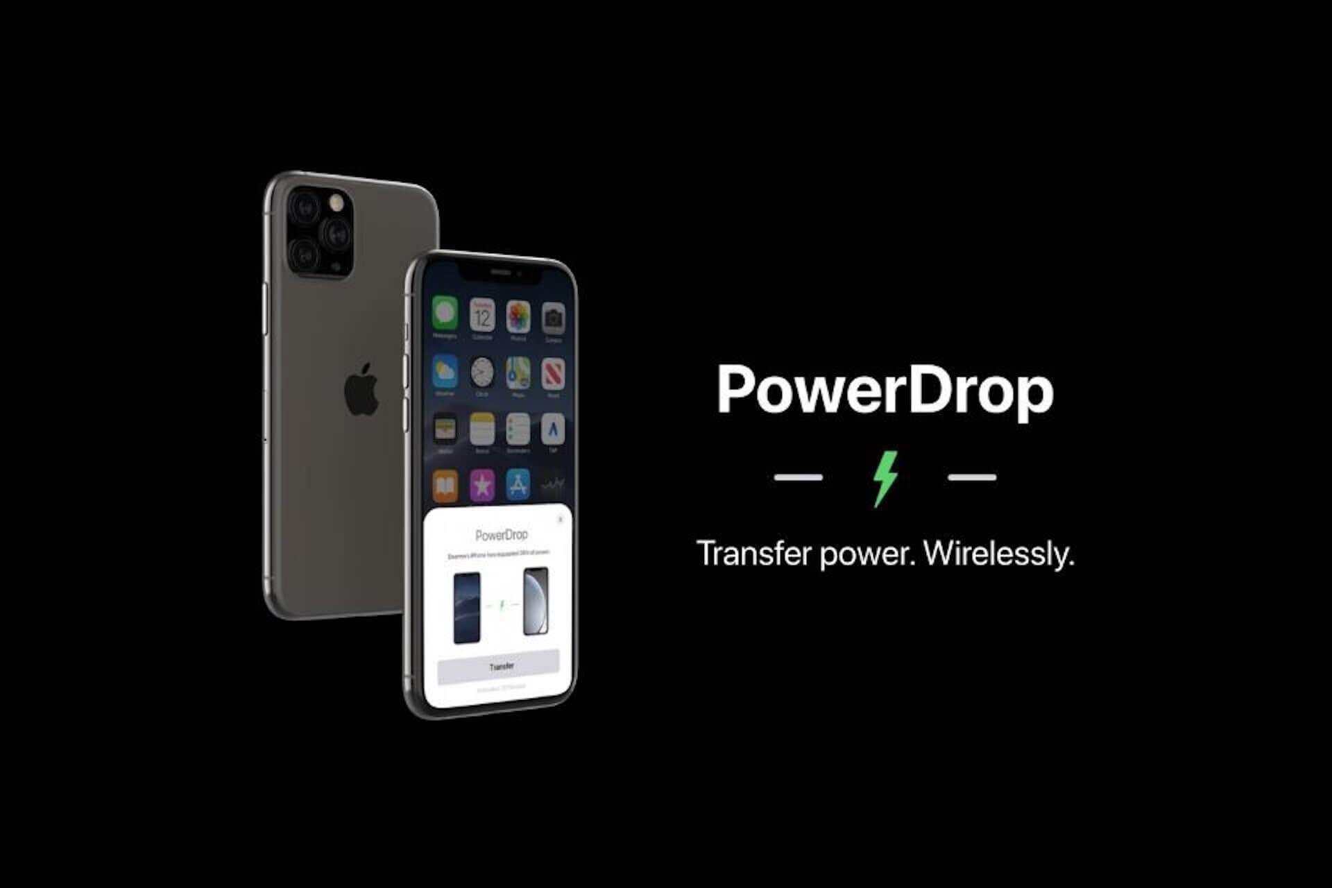 iPhone同士で充電できる!?新機能「PowerDrop」のコンセプト画像が公開 tech200127_apple_powerdrop_main