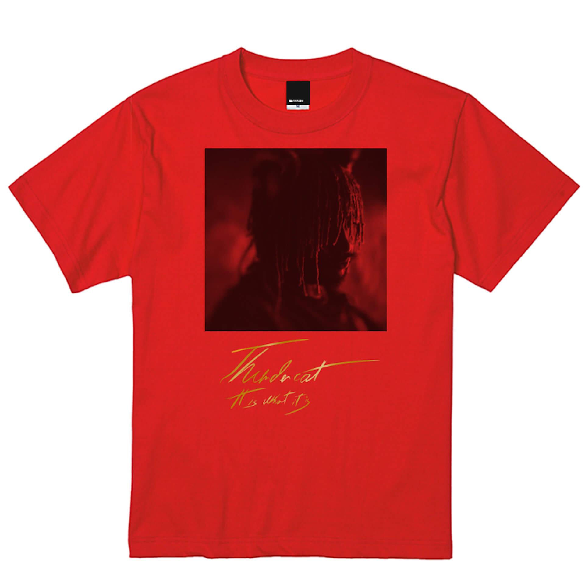 サンダーキャット話題の新作『It Is What It Is』の限定Tシャツセットデザインが公開|4種展開のLPプロダクトショットも解禁 music200129_thundercat_9