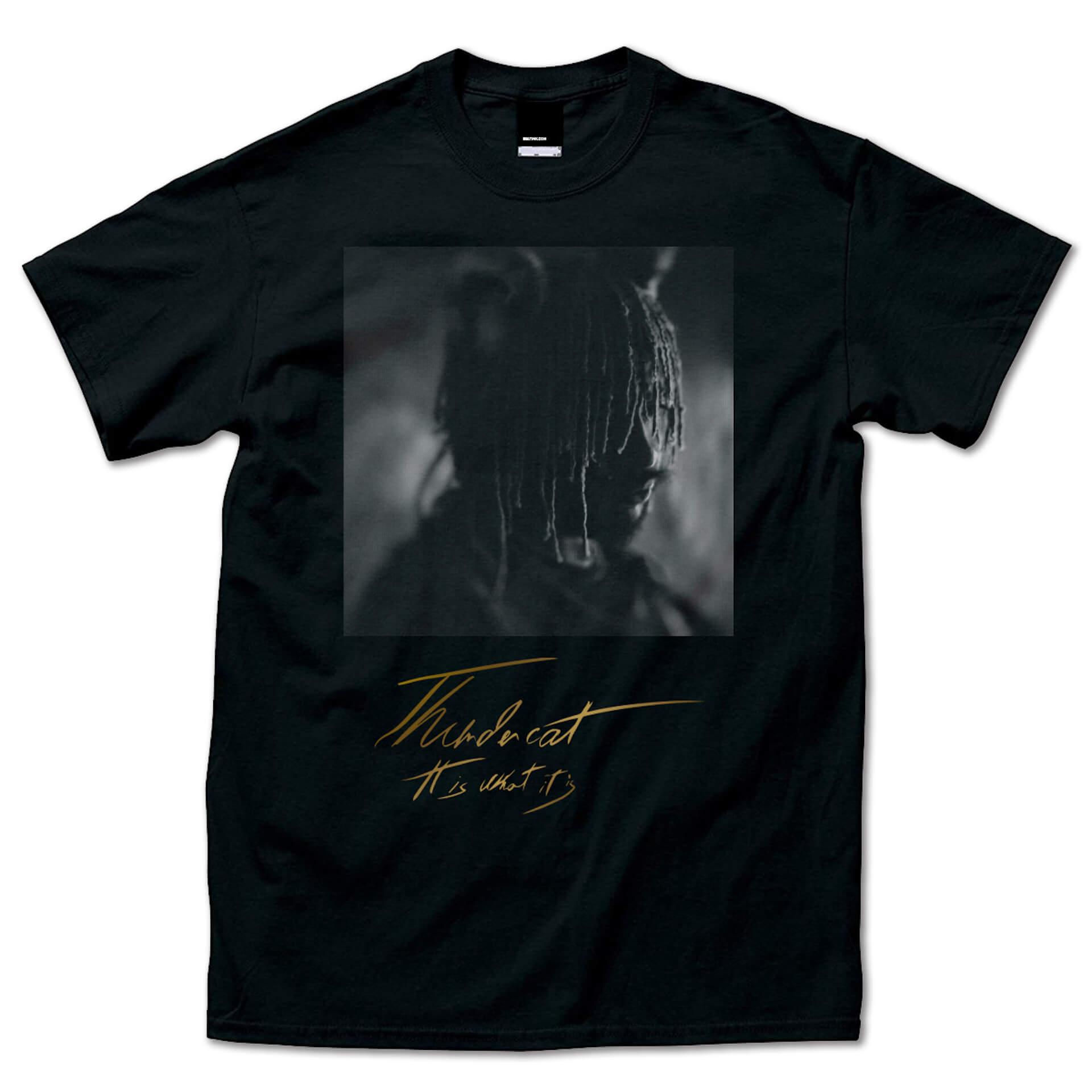 サンダーキャット話題の新作『It Is What It Is』の限定Tシャツセットデザインが公開|4種展開のLPプロダクトショットも解禁 music200129_thundercat_11