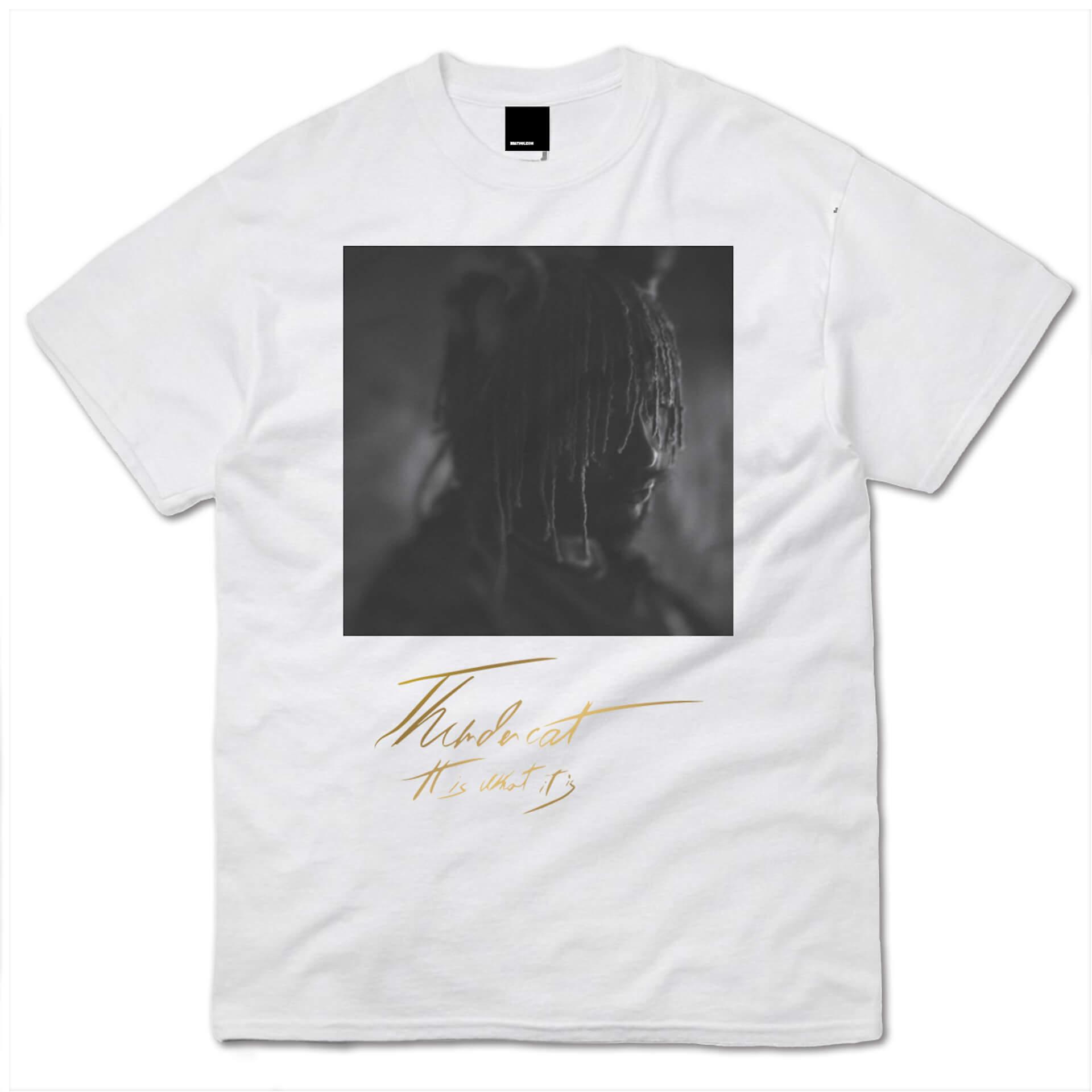 サンダーキャット話題の新作『It Is What It Is』の限定Tシャツセットデザインが公開|4種展開のLPプロダクトショットも解禁 music200129_thundercat_22
