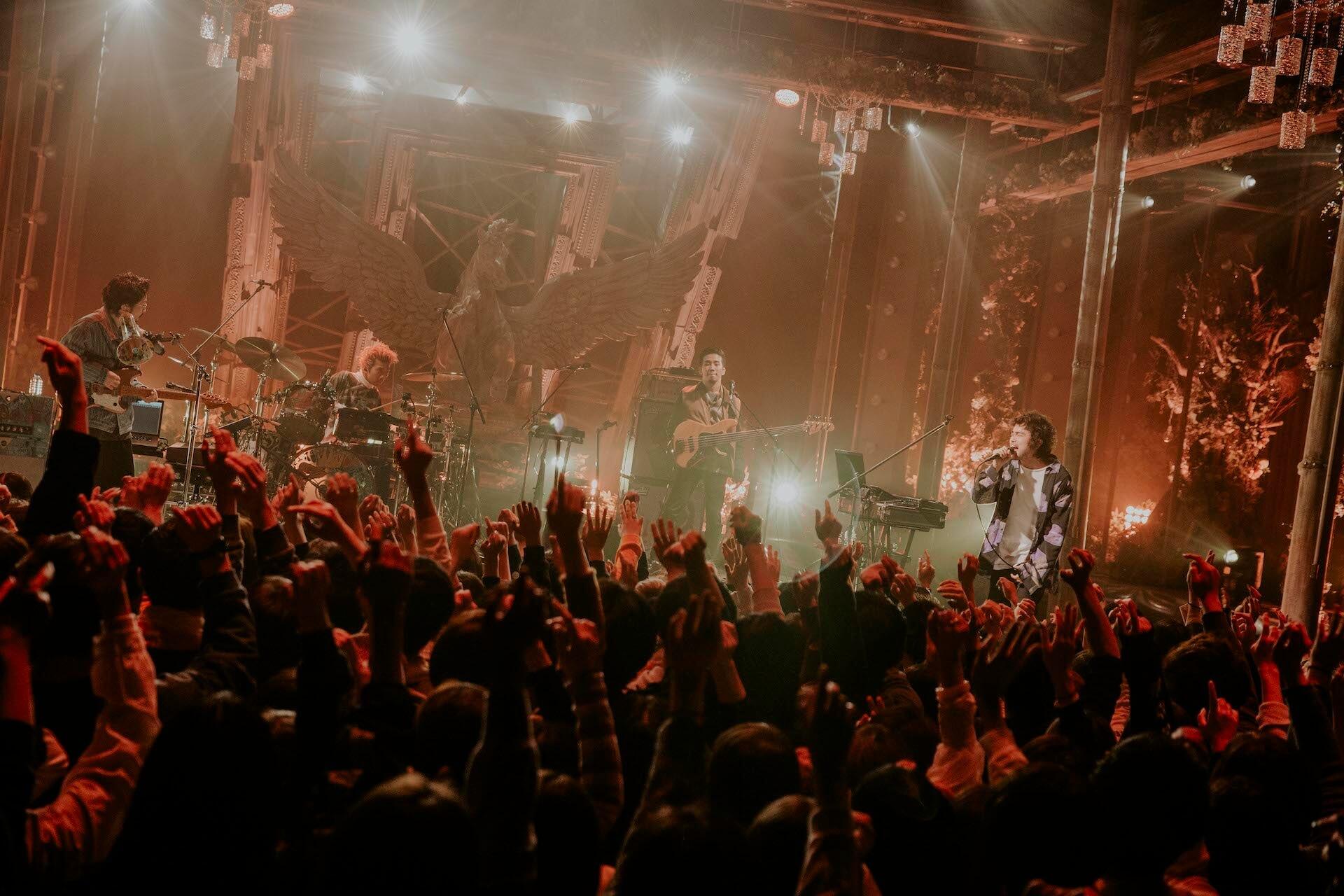 King Gnu「傘」「The hole」を地上波初披露!来週『Love music』特別番組放送決定 music200203_kinggnu_5